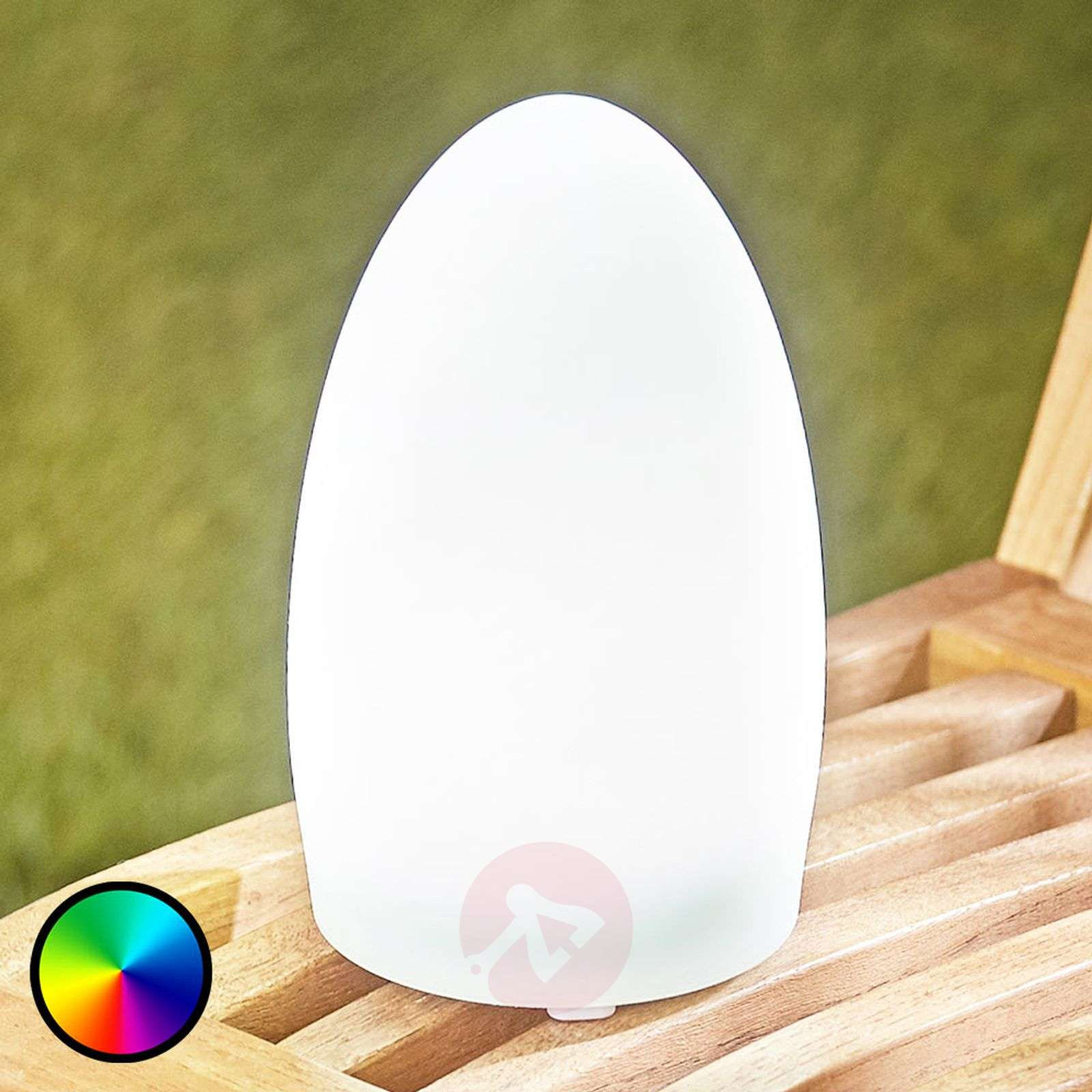 RGB LED decorative light Solay for outdoors, USB-6729004-01