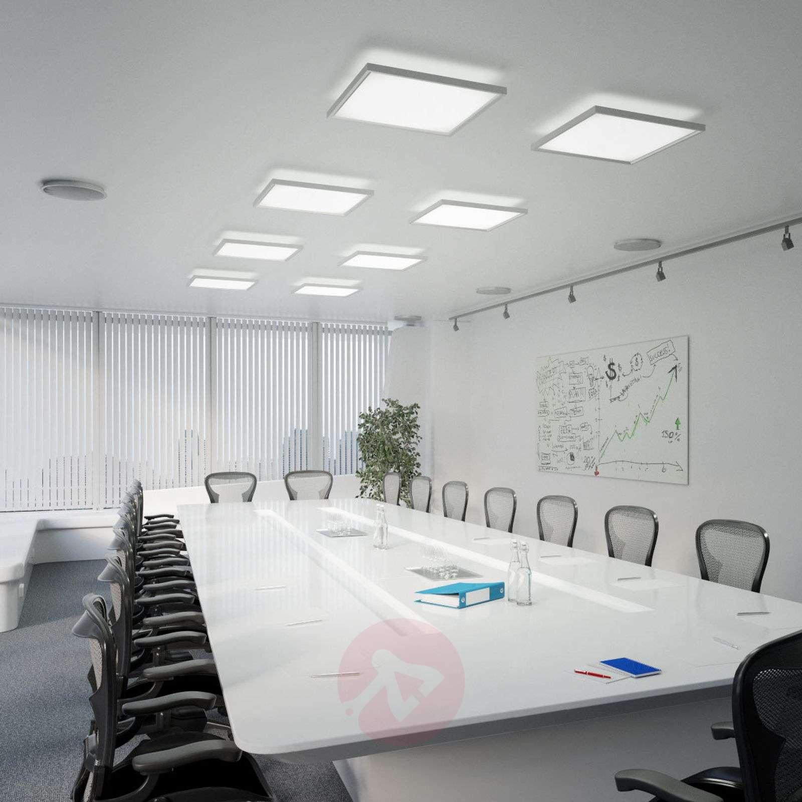 Rick Square Led Office Ceiling Lamp Dali 4 000 K