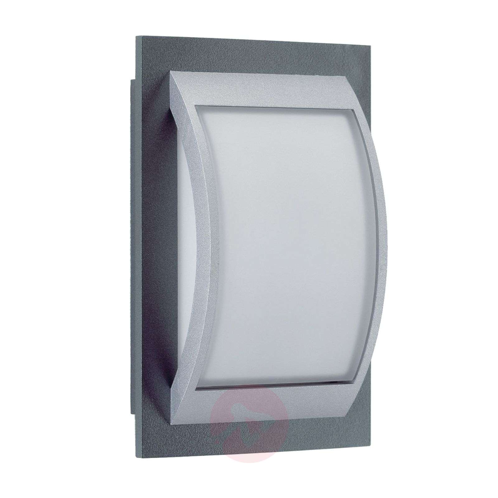Robust outdoor wall light Marcia with opal glass-4000023X-01