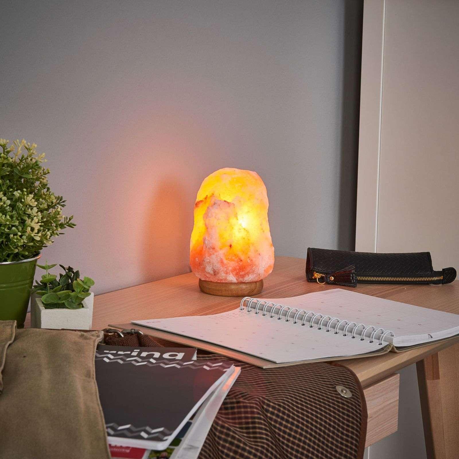 ROCK salt lamp emits wellness light 3kg-9608001-02