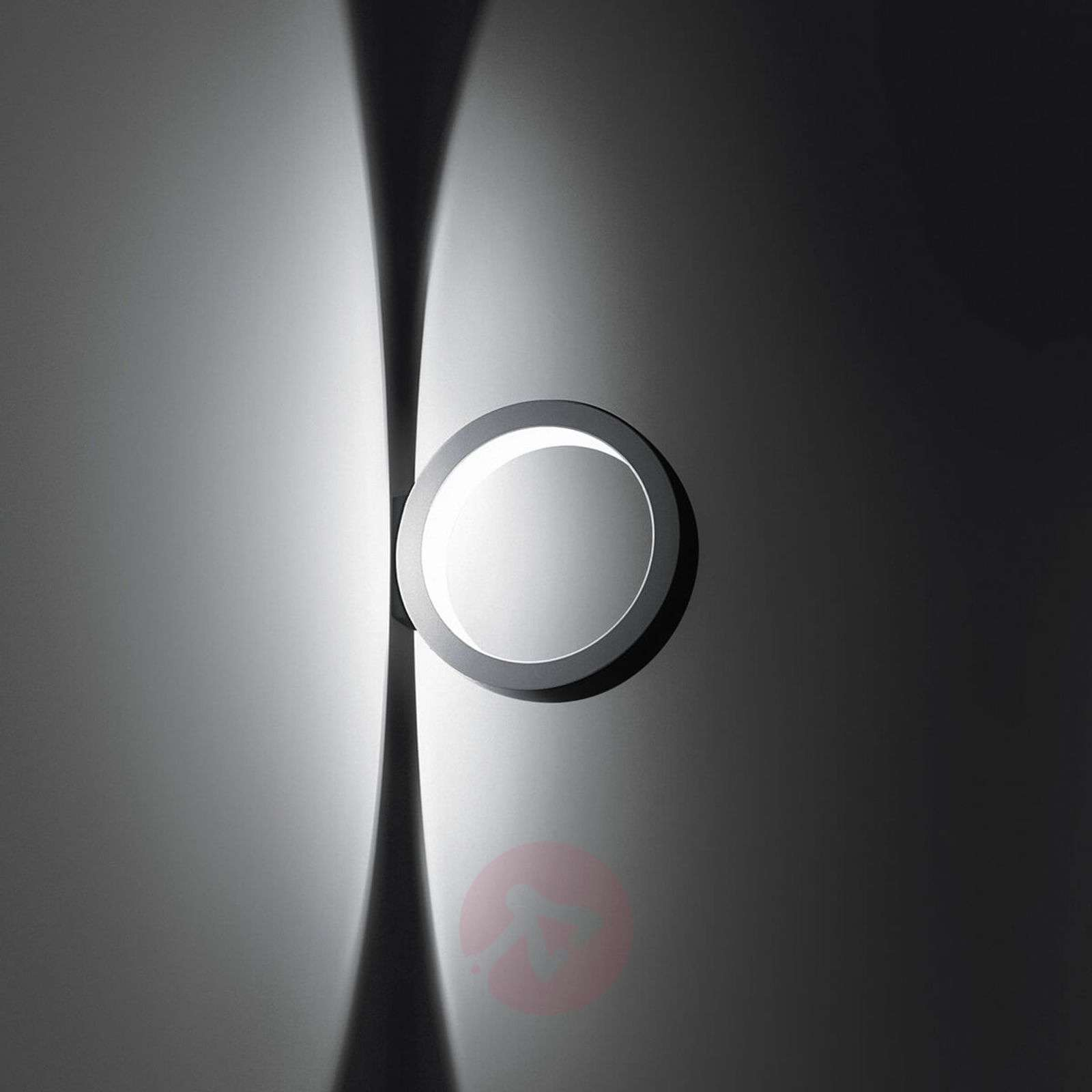 Round designer wall light Assolo, dimmable LEDs-2028018-01