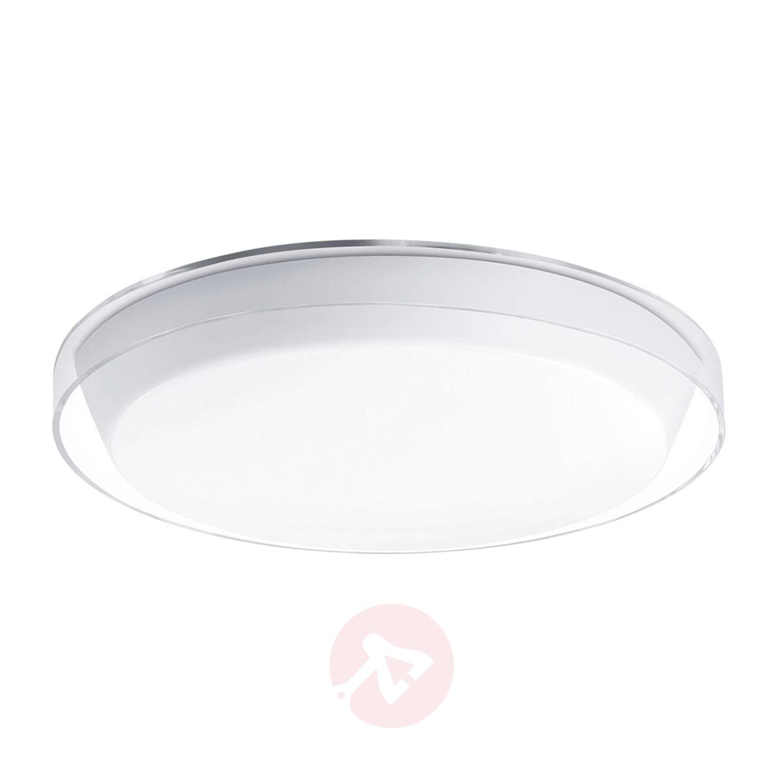Round KL376 LED ceiling light made of plastic-8542057-01