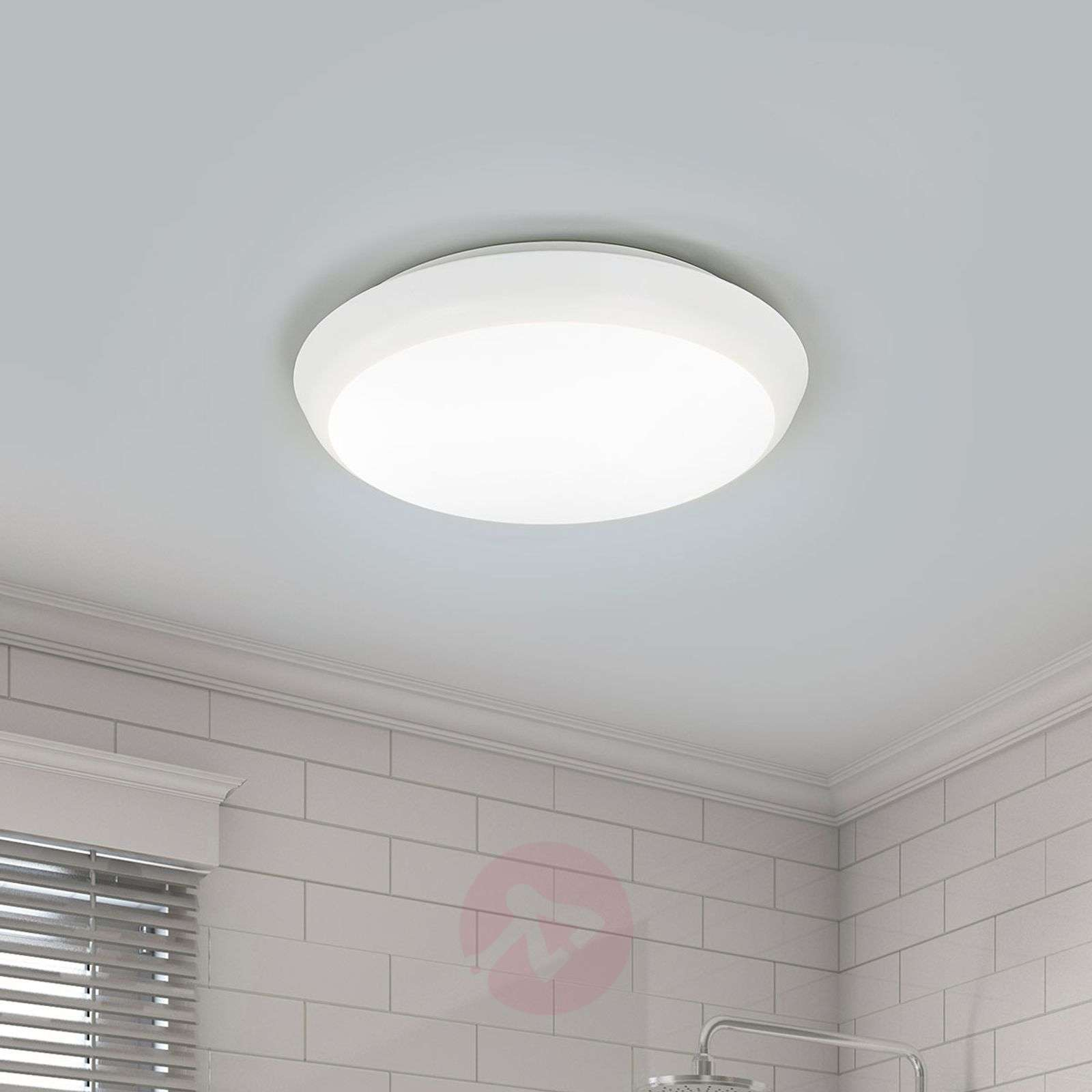 Round LED ceiling lamp Augustin, 20 cm-9967008-01