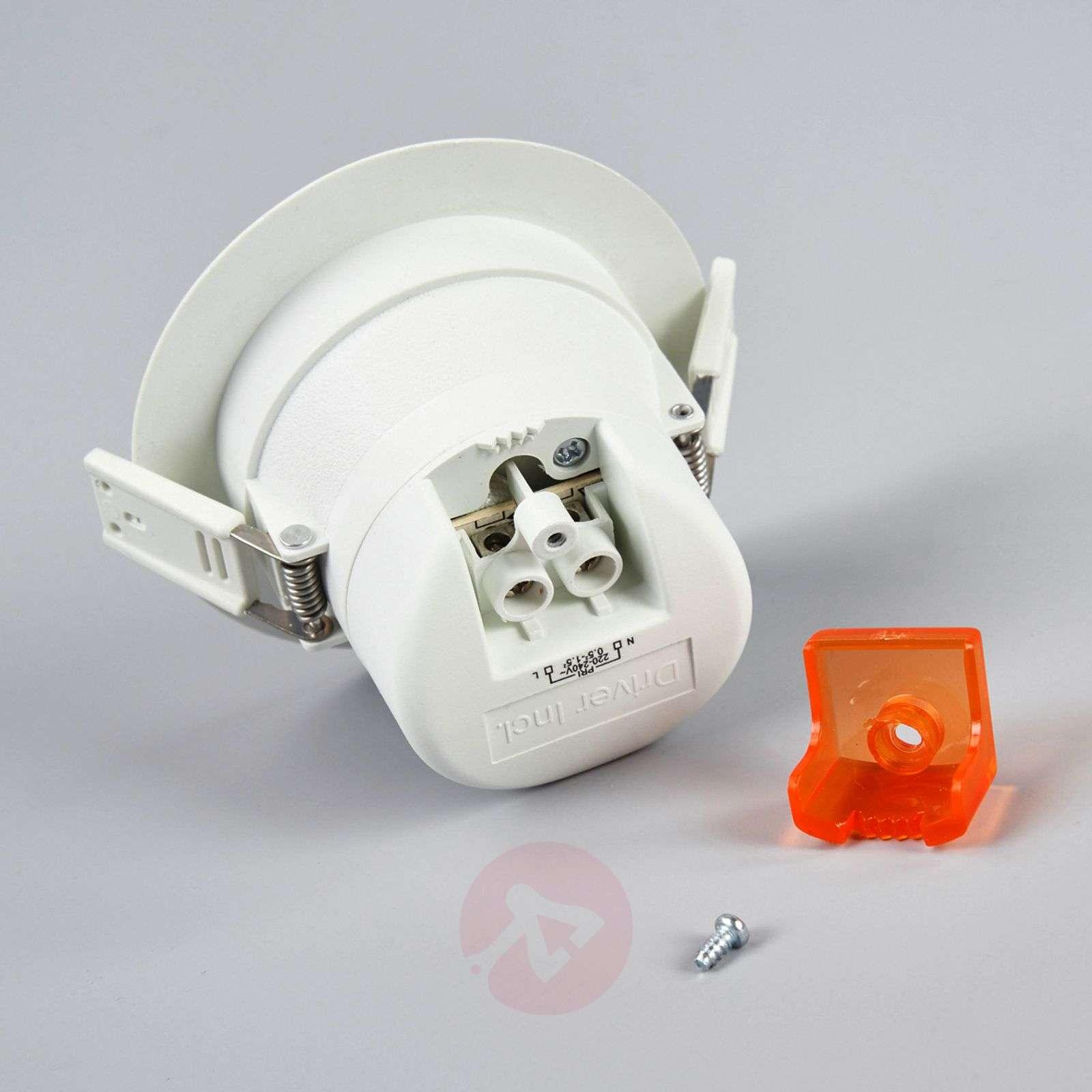 Round LED recessed light Arian, 9.2 cm, 6 W-9978008-05