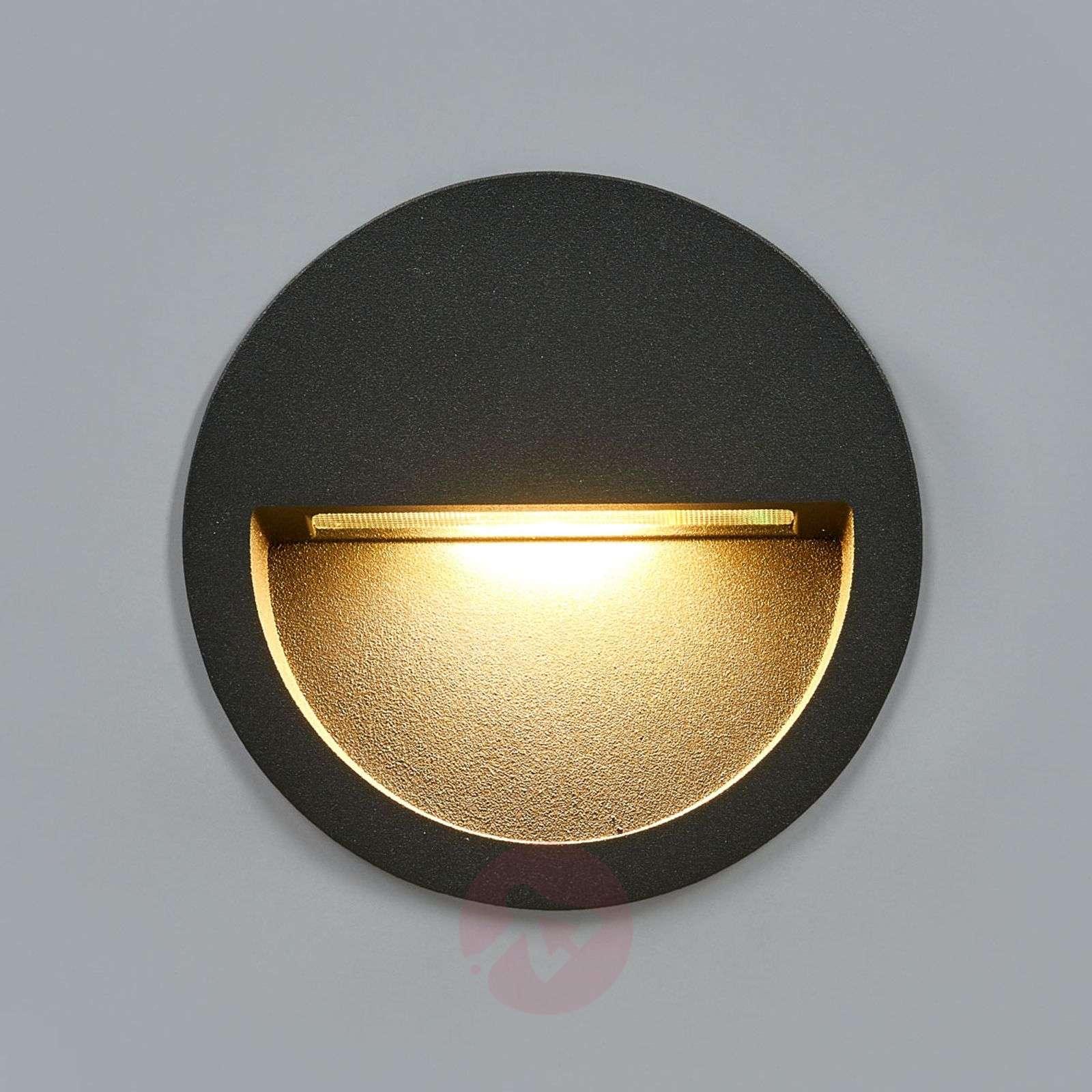 Round led recessed wall light loya lights round led recessed wall light loya 9969037 02 aloadofball Image collections