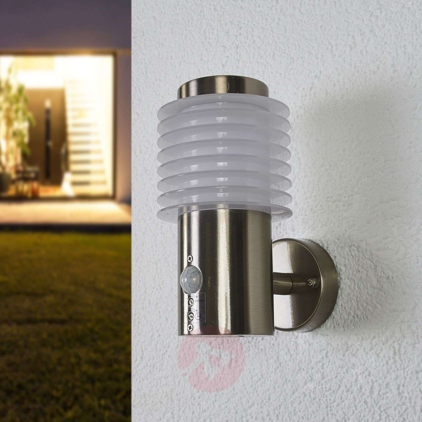 Roxy LED outdoor wall lamp with sensor-9988120-01