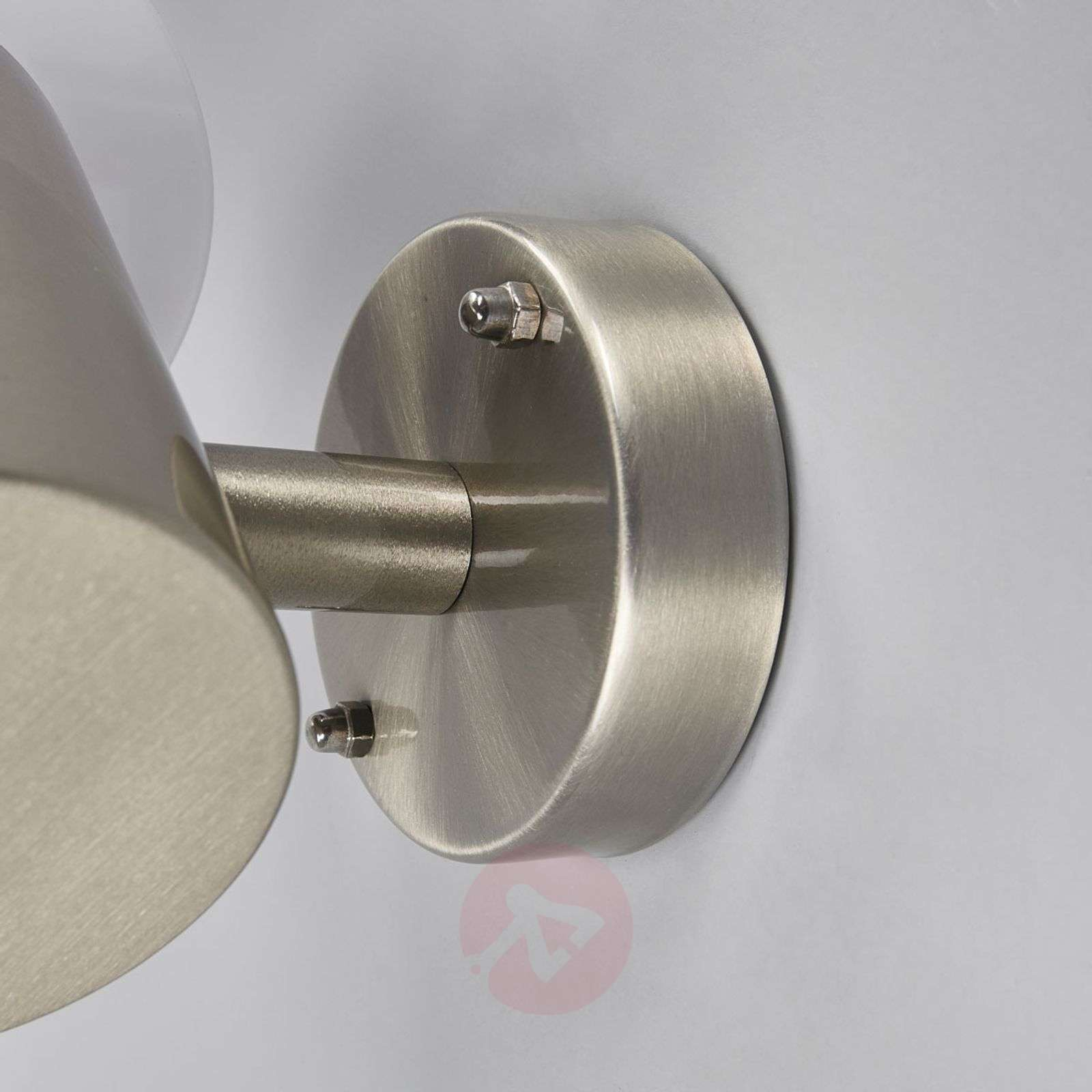 Roxy stainless steel outdoor wall light with LEDs-9988119-01