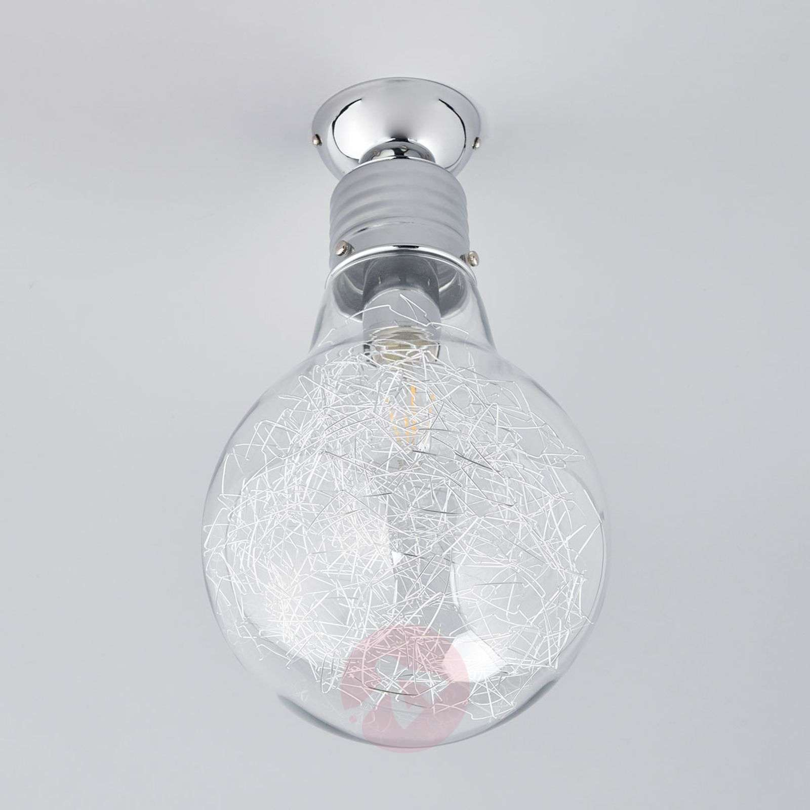 Rubi ceiling lamp in the shape of a light bulb-9970131-03