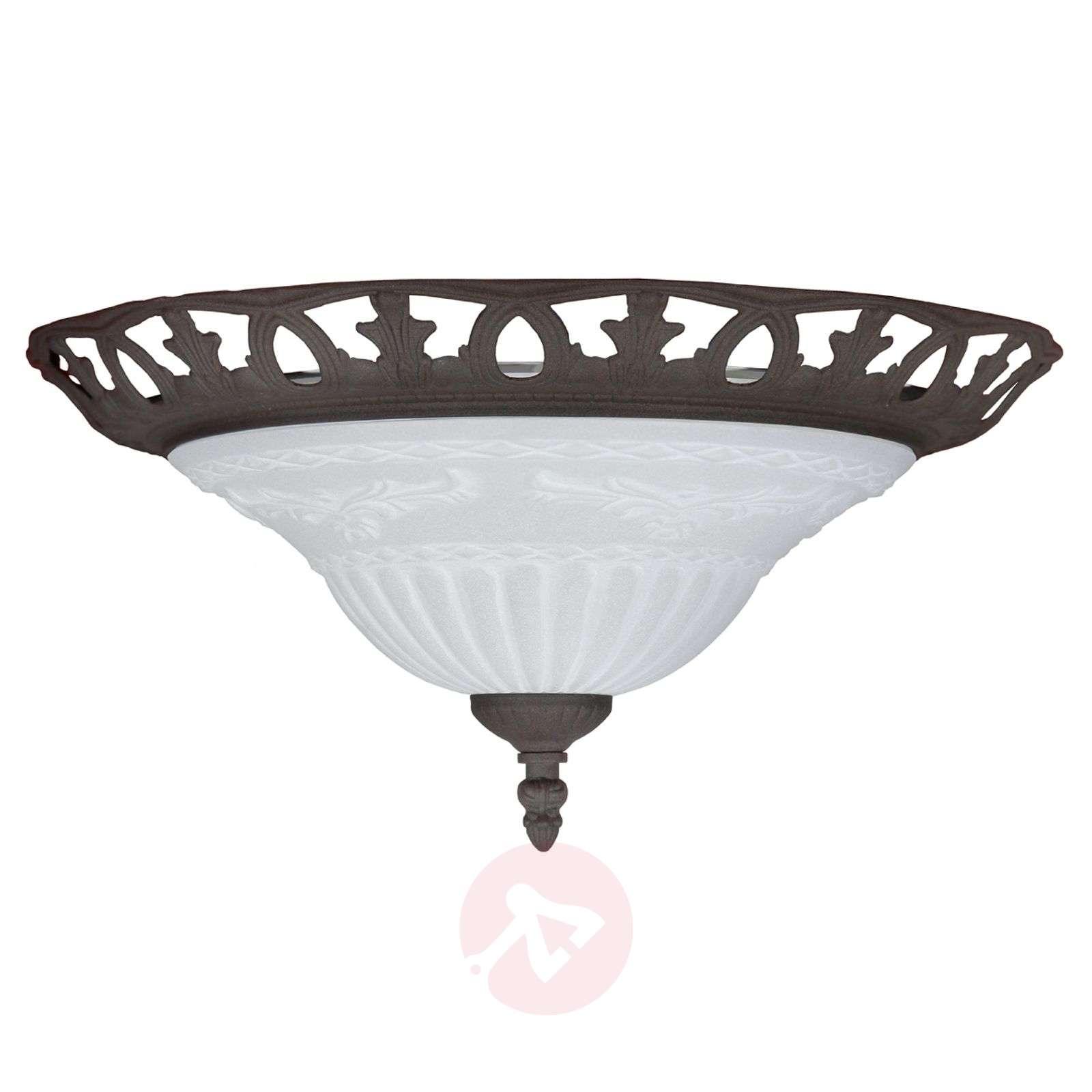 RUST ceiling light in an antique design-9003185-01