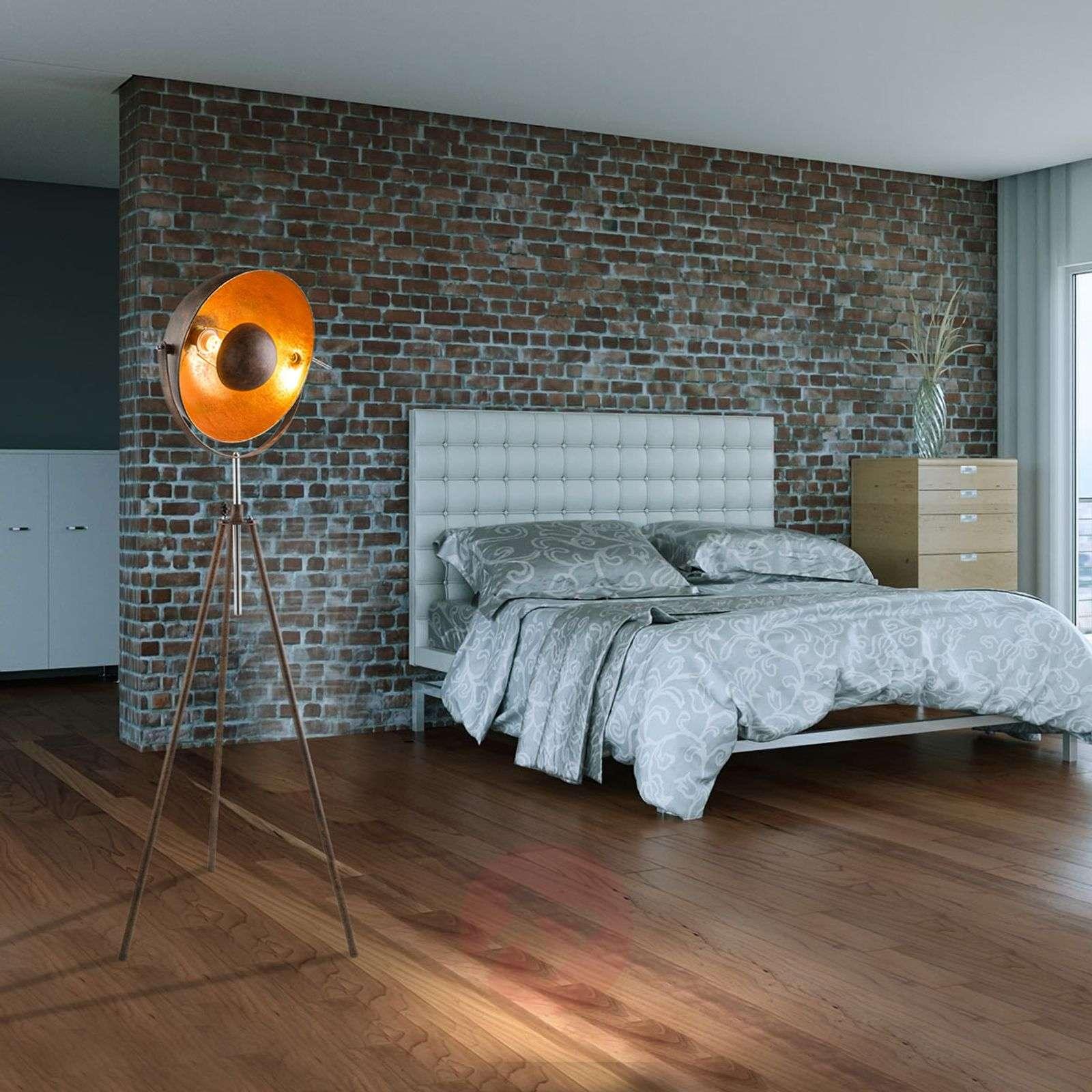 Rust-coloured Xirena I tripod floor lamp-4015067-01