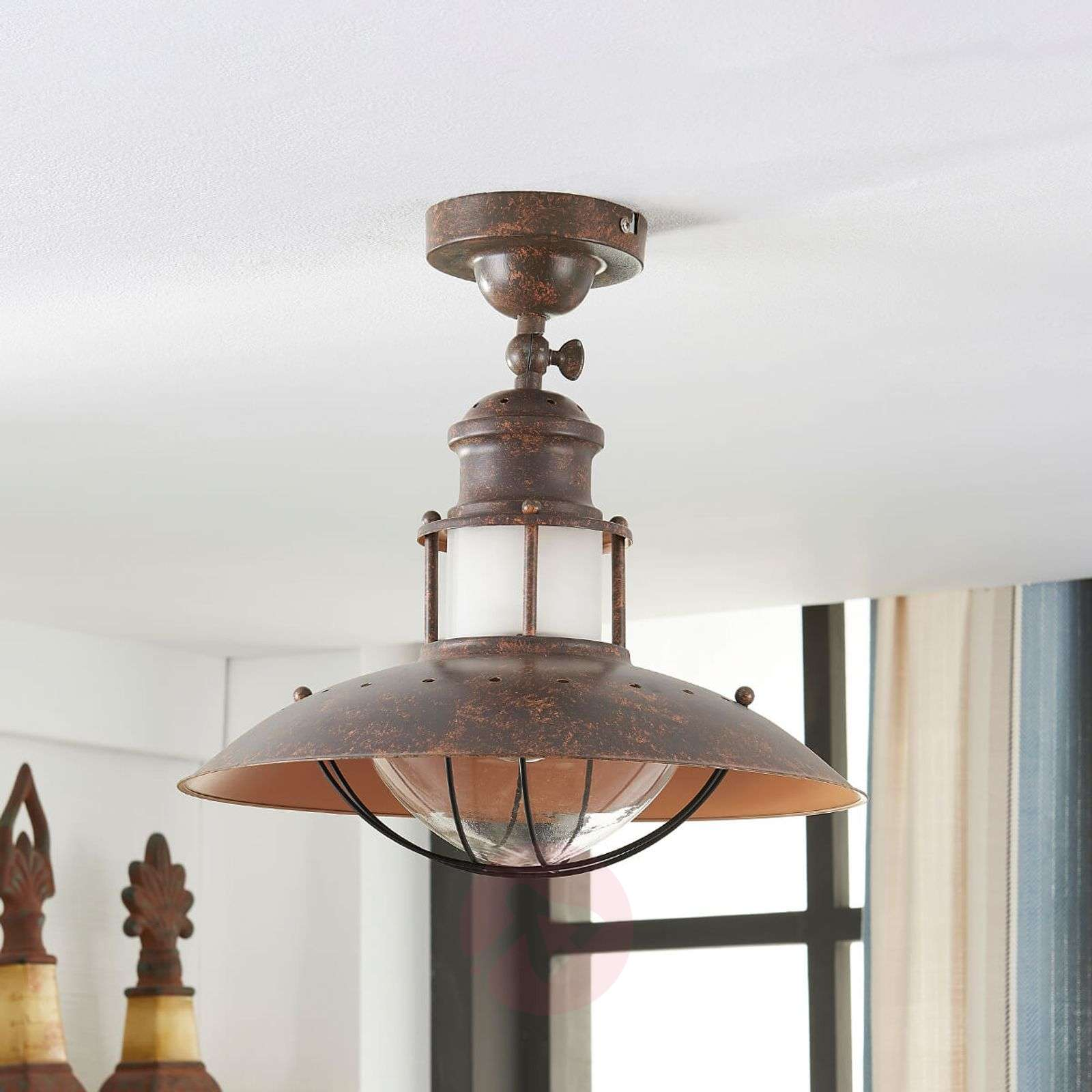 Rustic ceiling light Louisanne-9621170-02