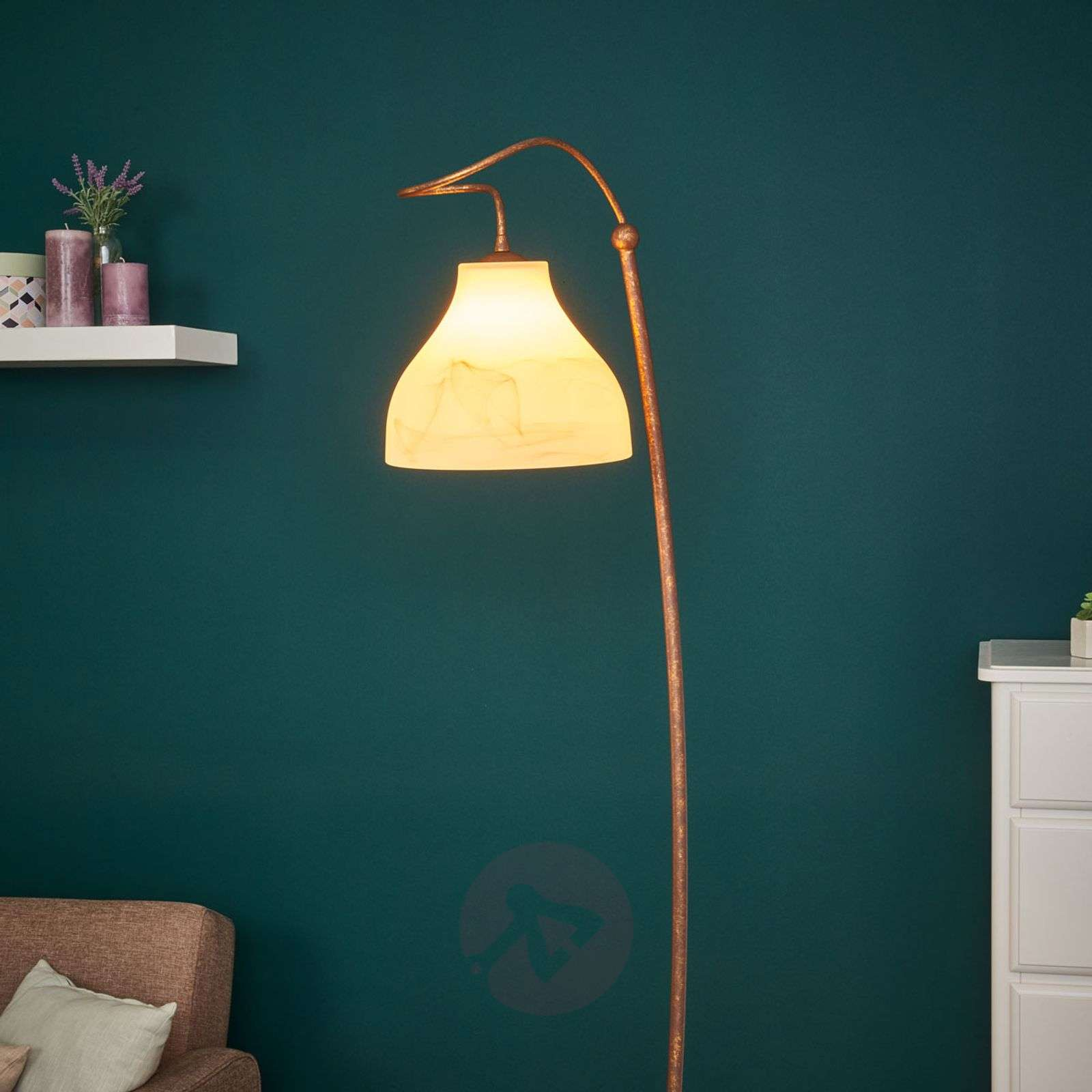 Rustic floor lamp Mattia-6059204-01