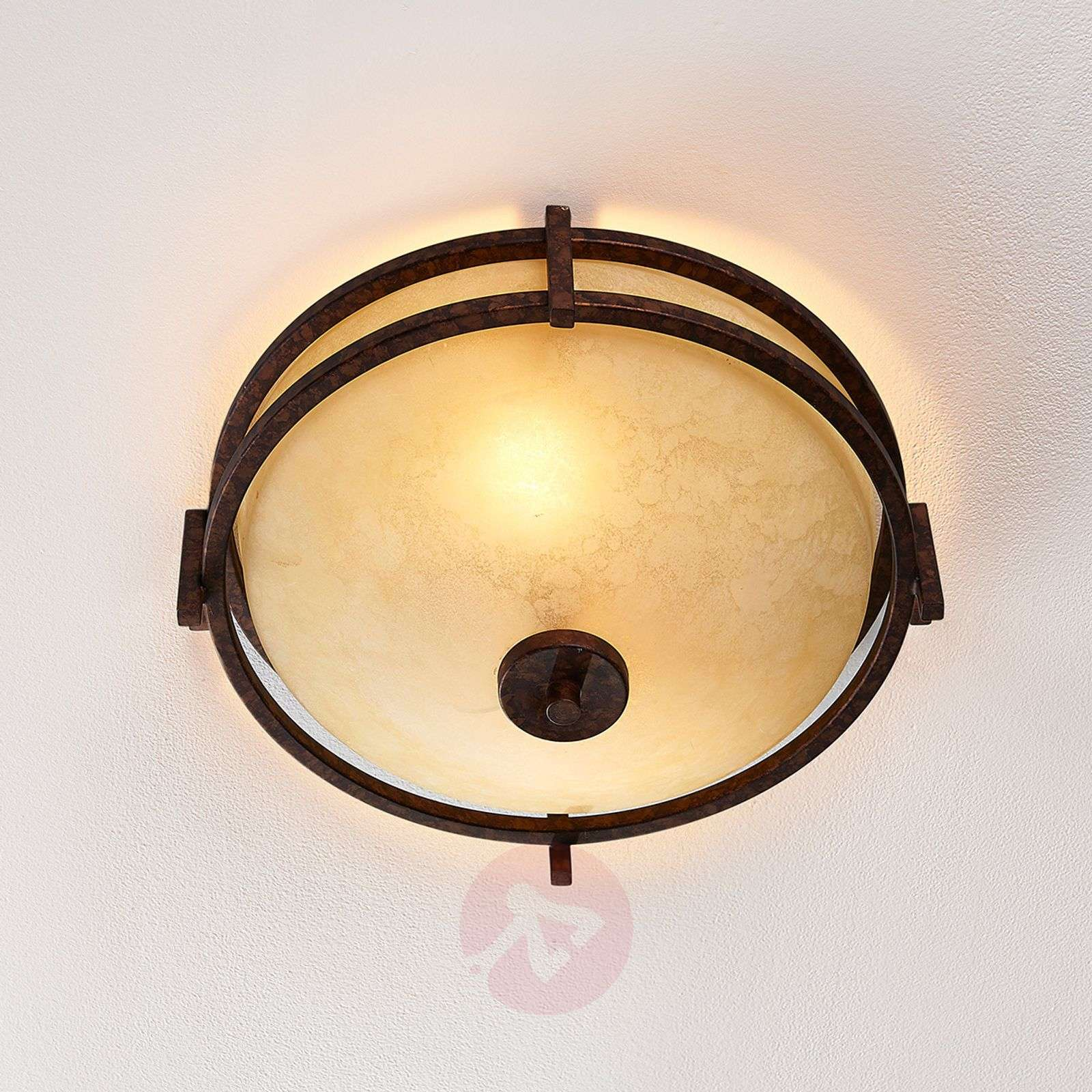 Rustic-looking ceiling lamp Rosanna-9620652-01
