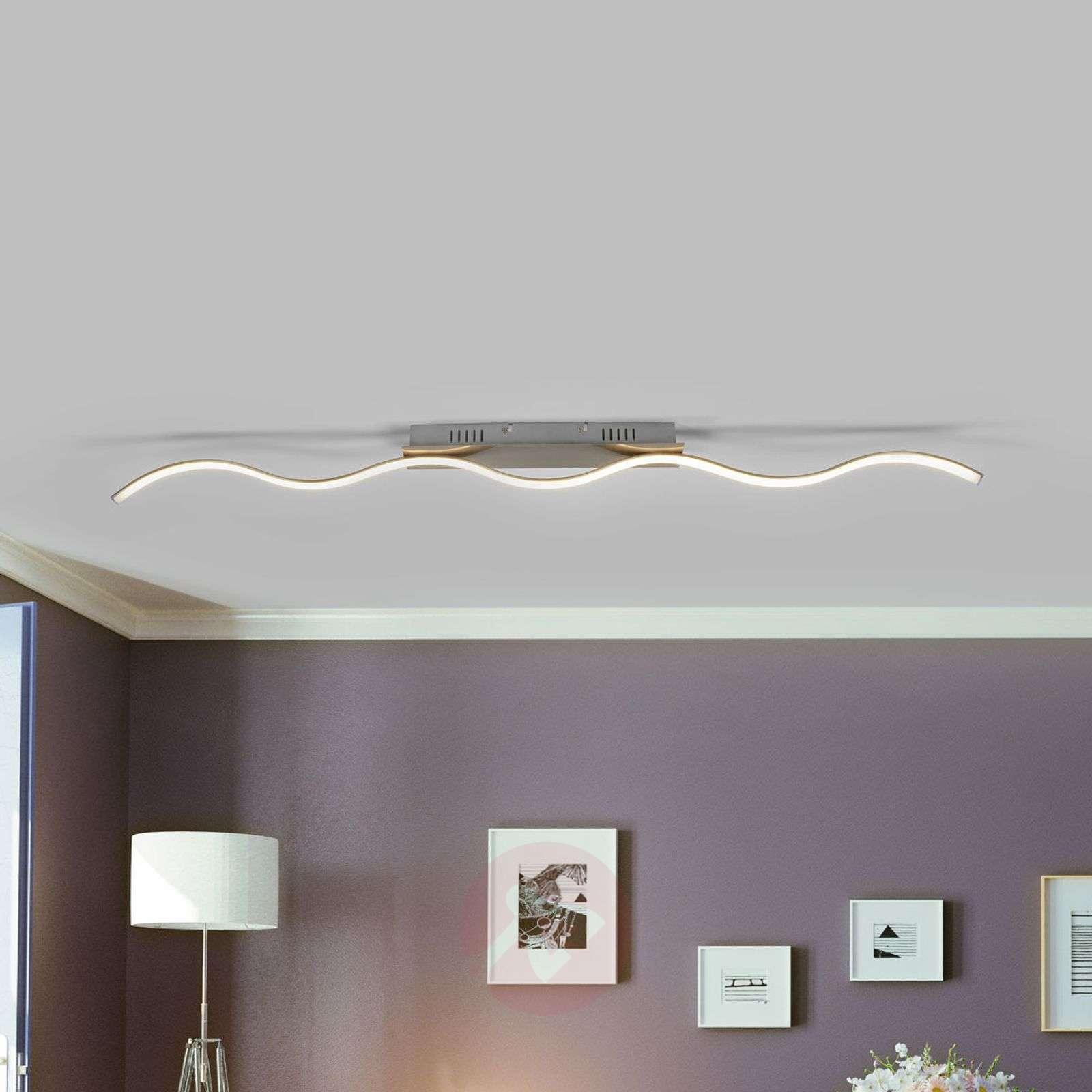 Safia curved LED ceiling light, one-bulb-9985087-02