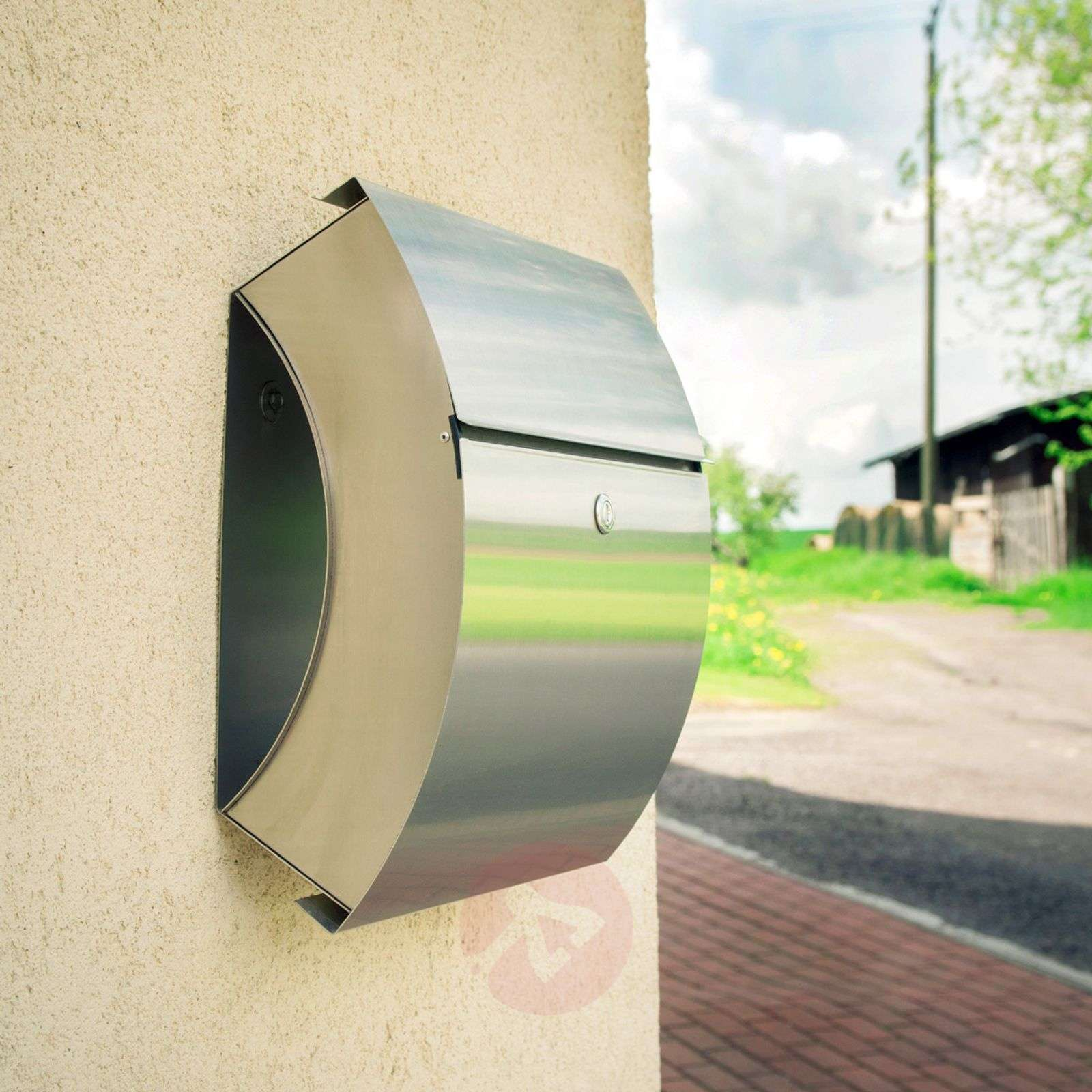 Santa Fe letterbox made of stainless steel-5540008-03