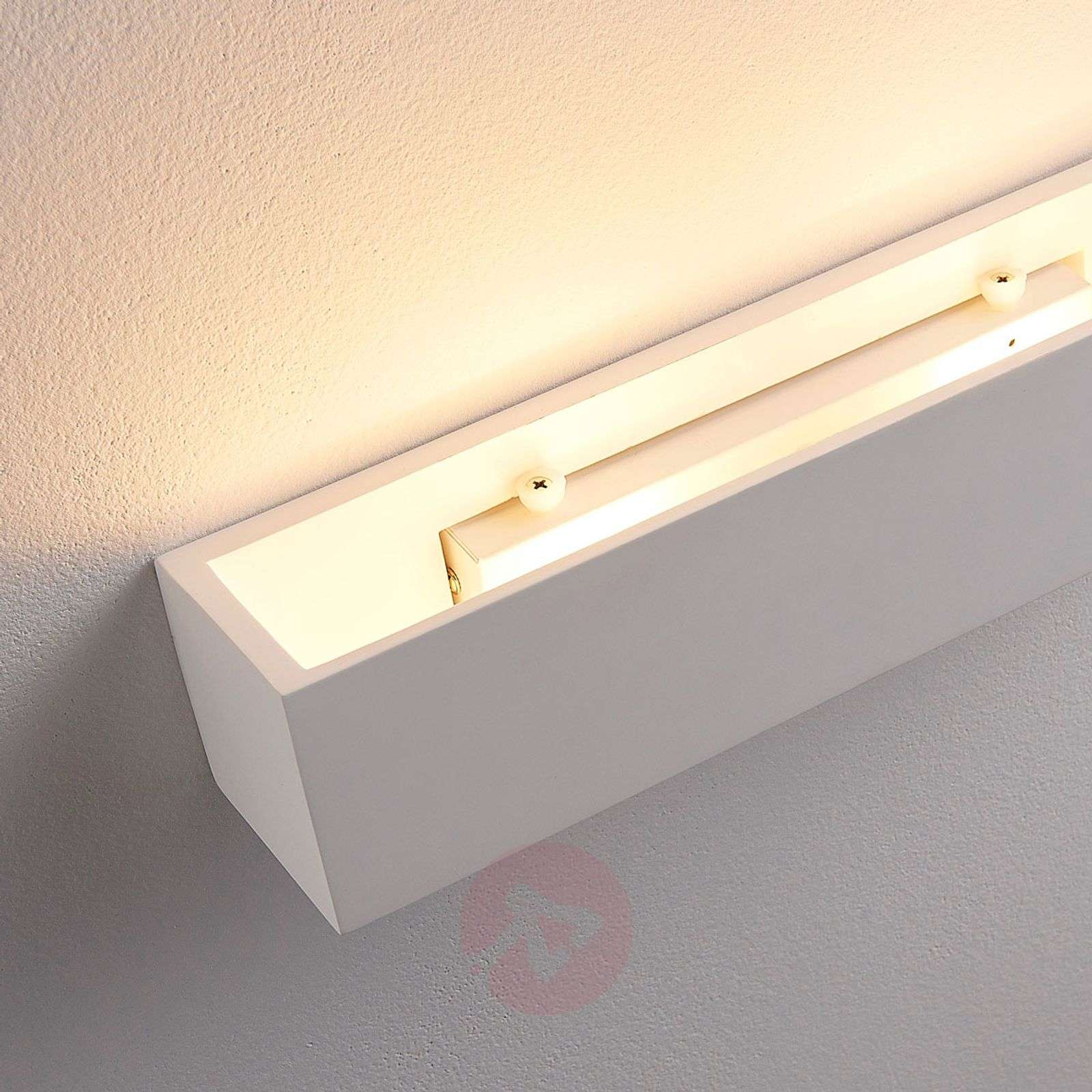 Santino wall light made from white plaster-9621334-02