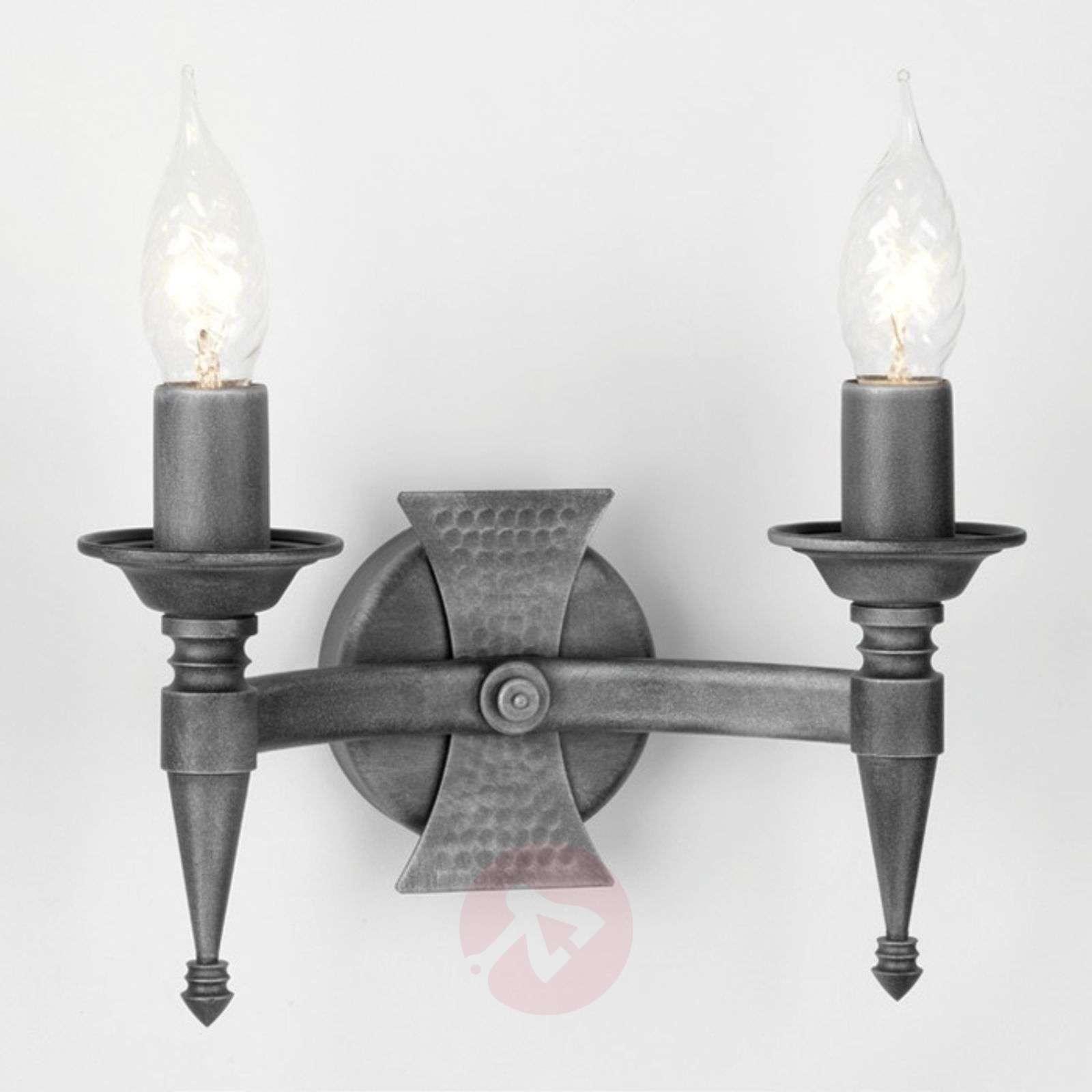 Saxon Wall Light Two Bulbs-3048047X-01