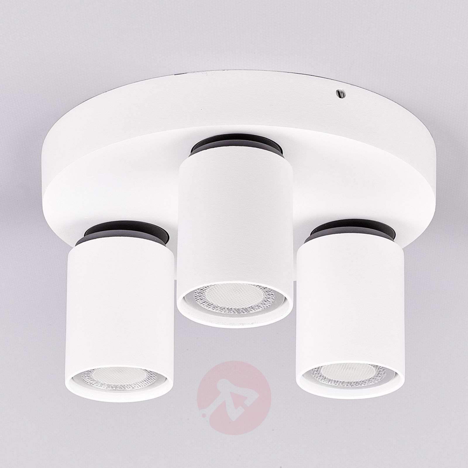 Sean 3-bulb round LED ceiling spotlight-9975021-01