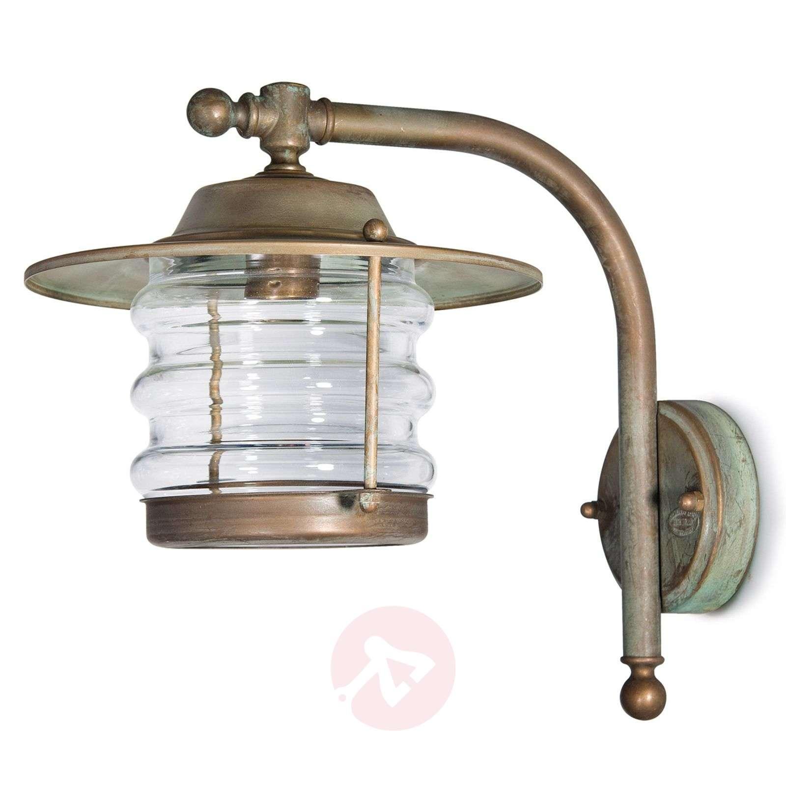 Seawater-res. lantern outdoor wall light Adessora-6515255-01