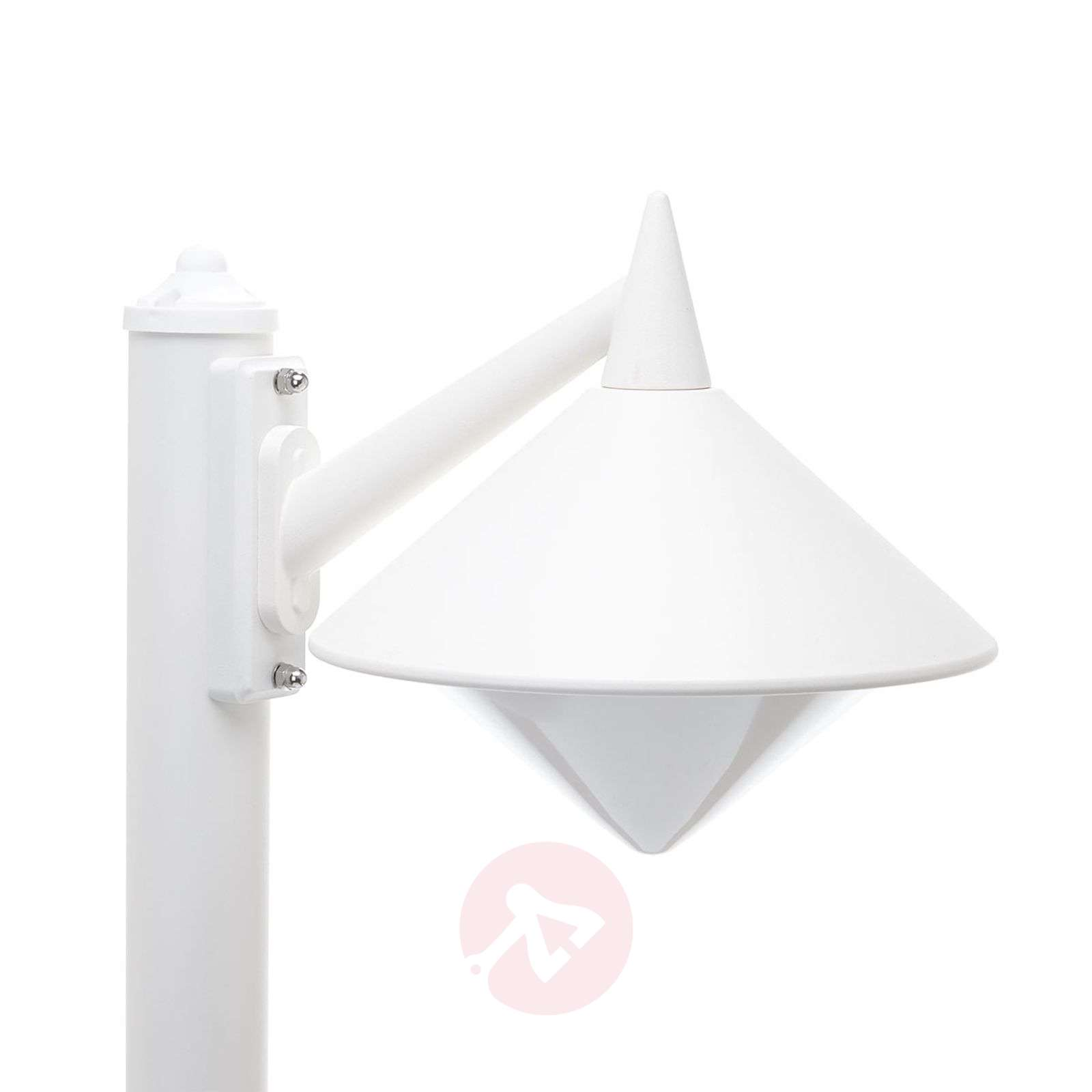 Seawater resistant path lamp Liara, white-6068077-01
