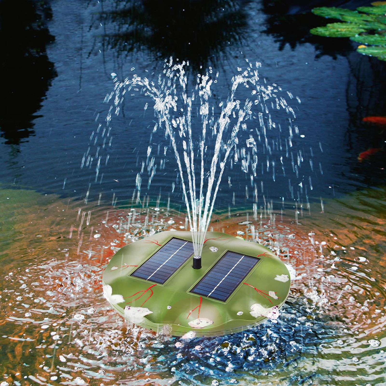 Seerose floating solar pond pump-3012120-03