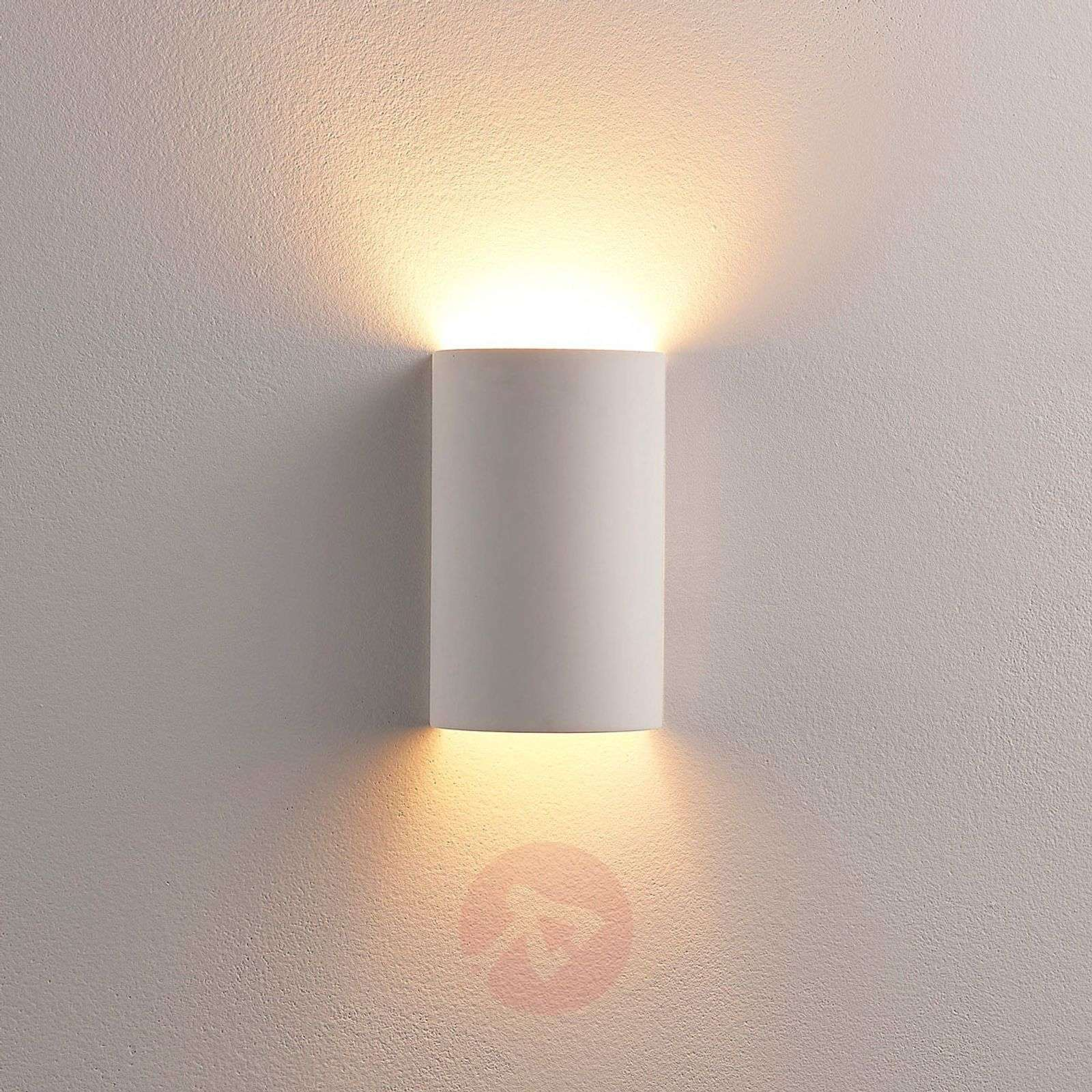 Semi-circular LED plaster wall lamp Colja-9621341-02