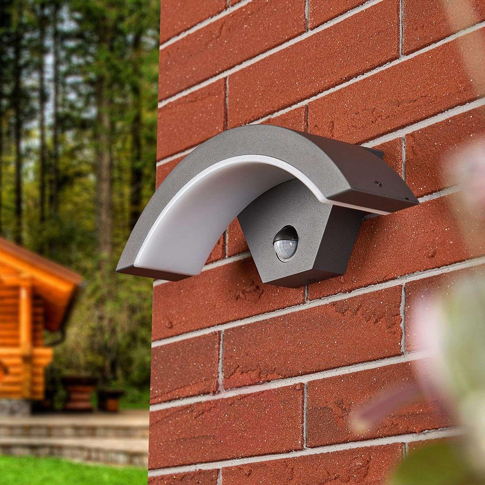 Sensor LED outdoor wall lamp Jule-8032090-010