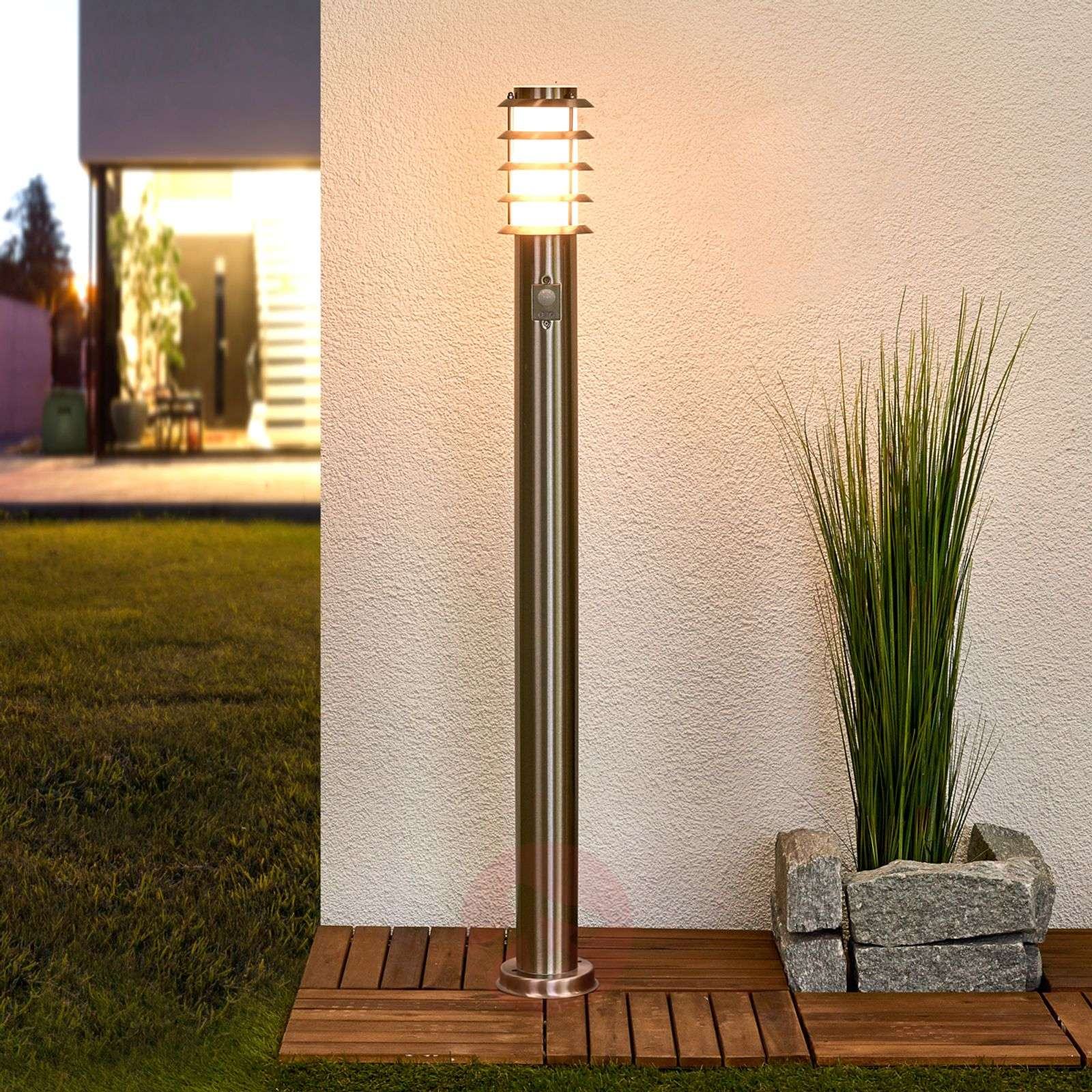 Sensor path lamp Selina made from stainless steel-9972018-06