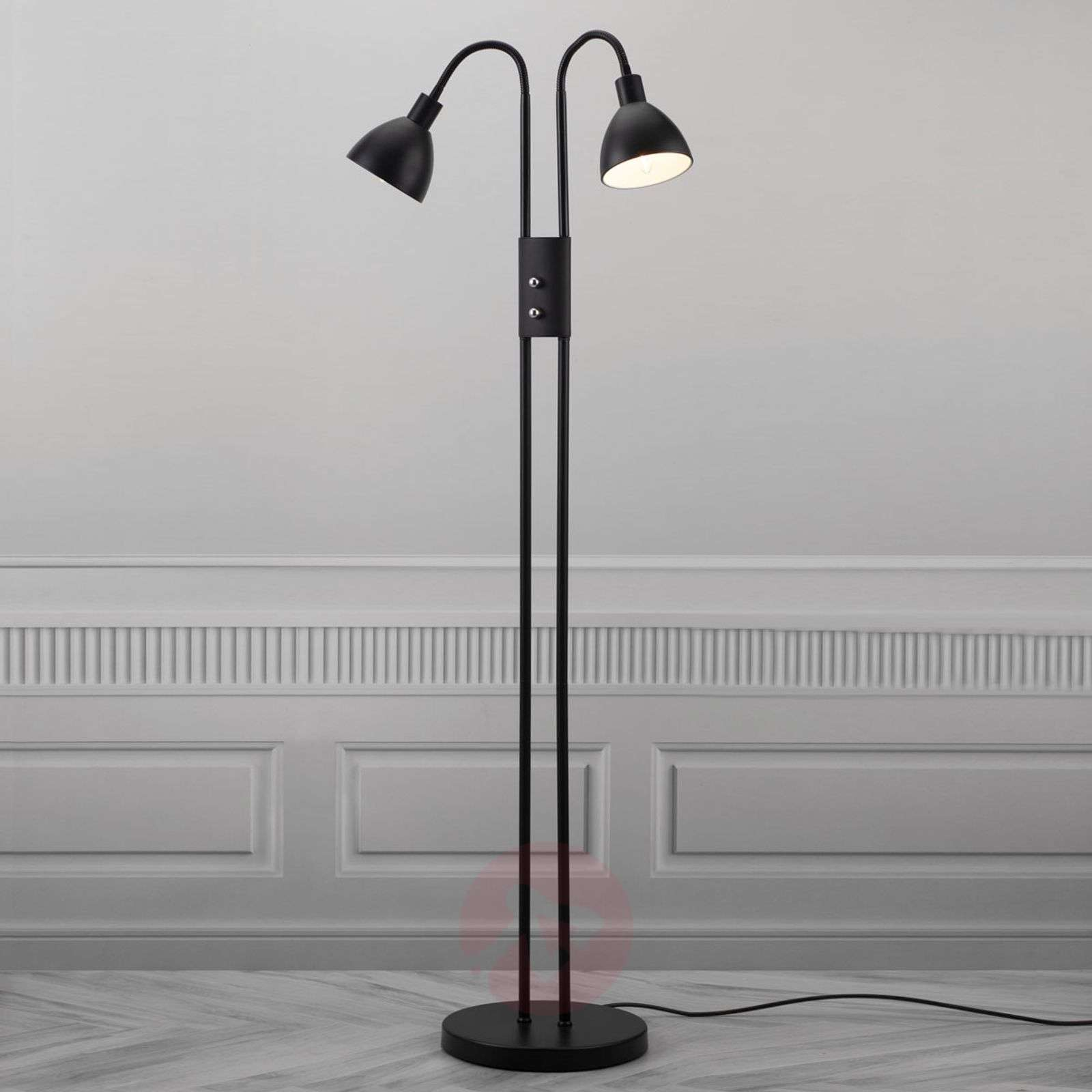 Separately switchable Ray floor lamp with dimmer-7005987-03