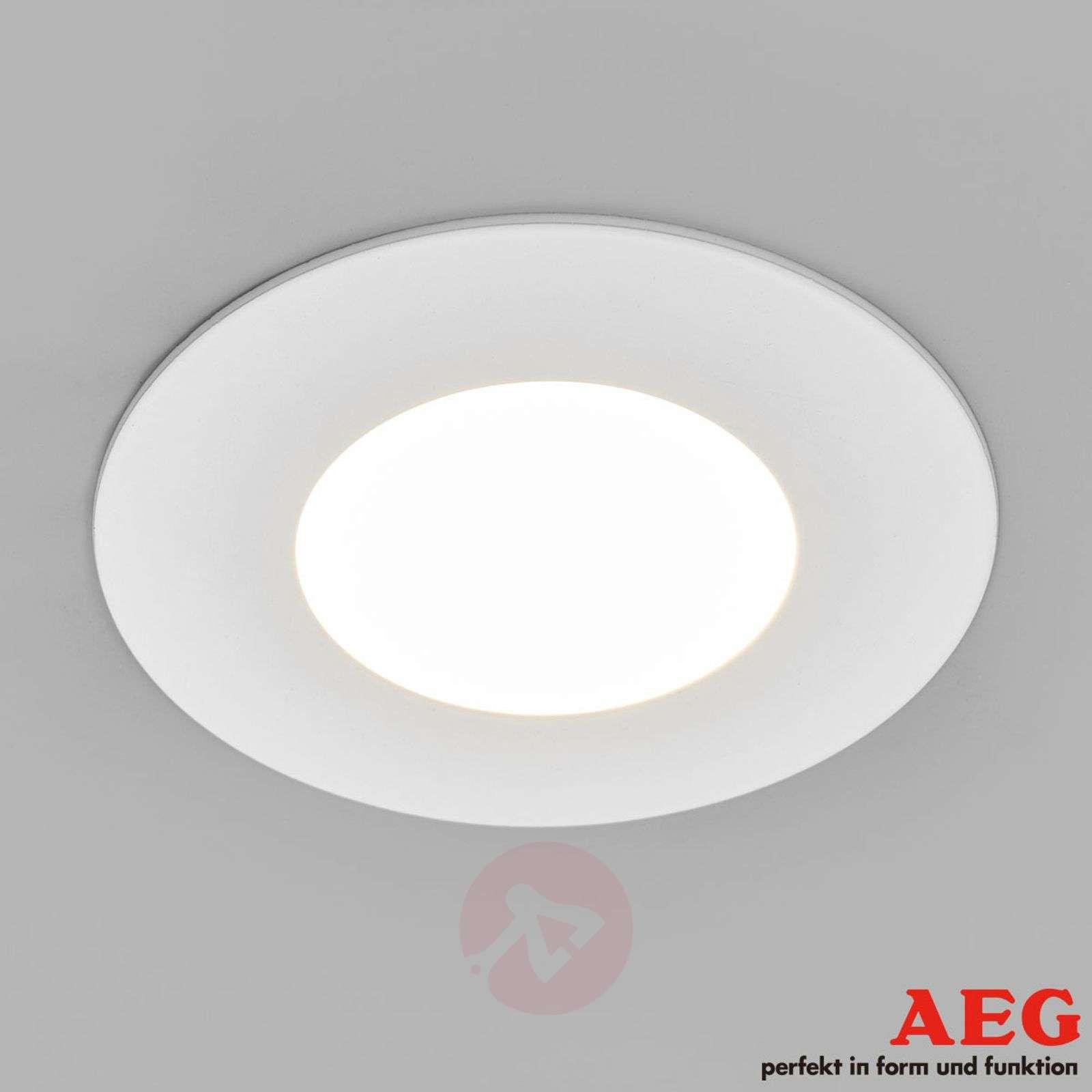 Set of 3 Orbita LED recessed lights, warm white-3057045-01