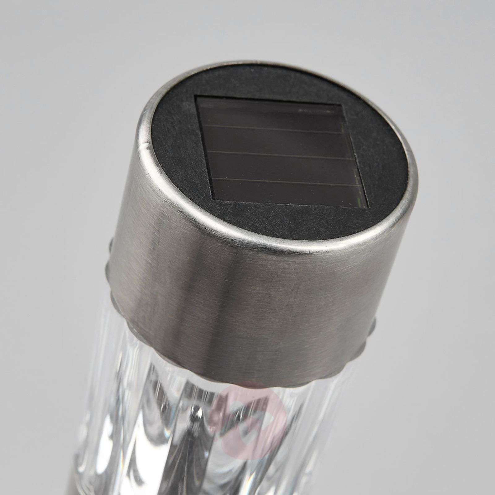 Set of twelve Ailin LED solar lights, RGB-9945290-01