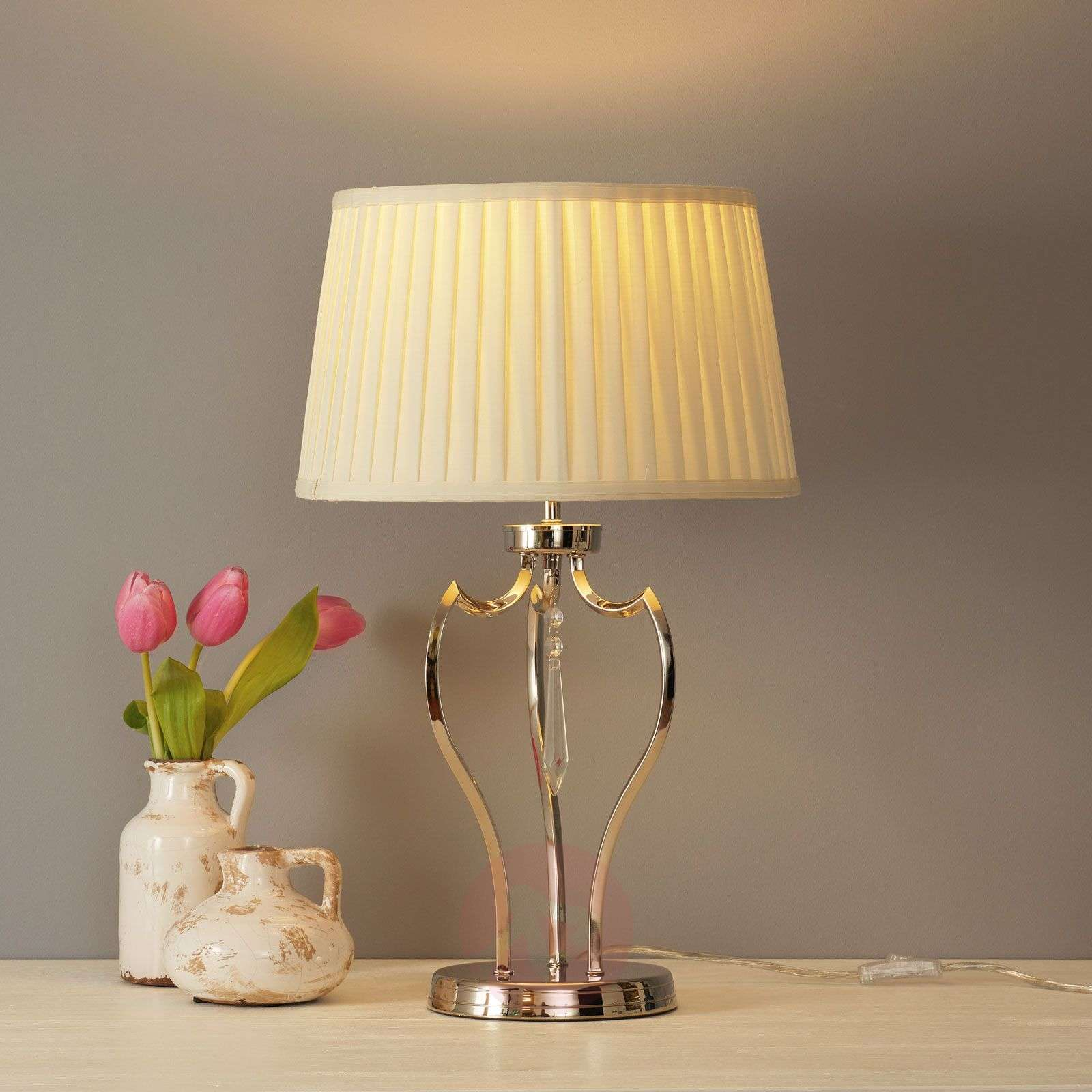 Shaded fabric table lamp Pimlico-3048593-01