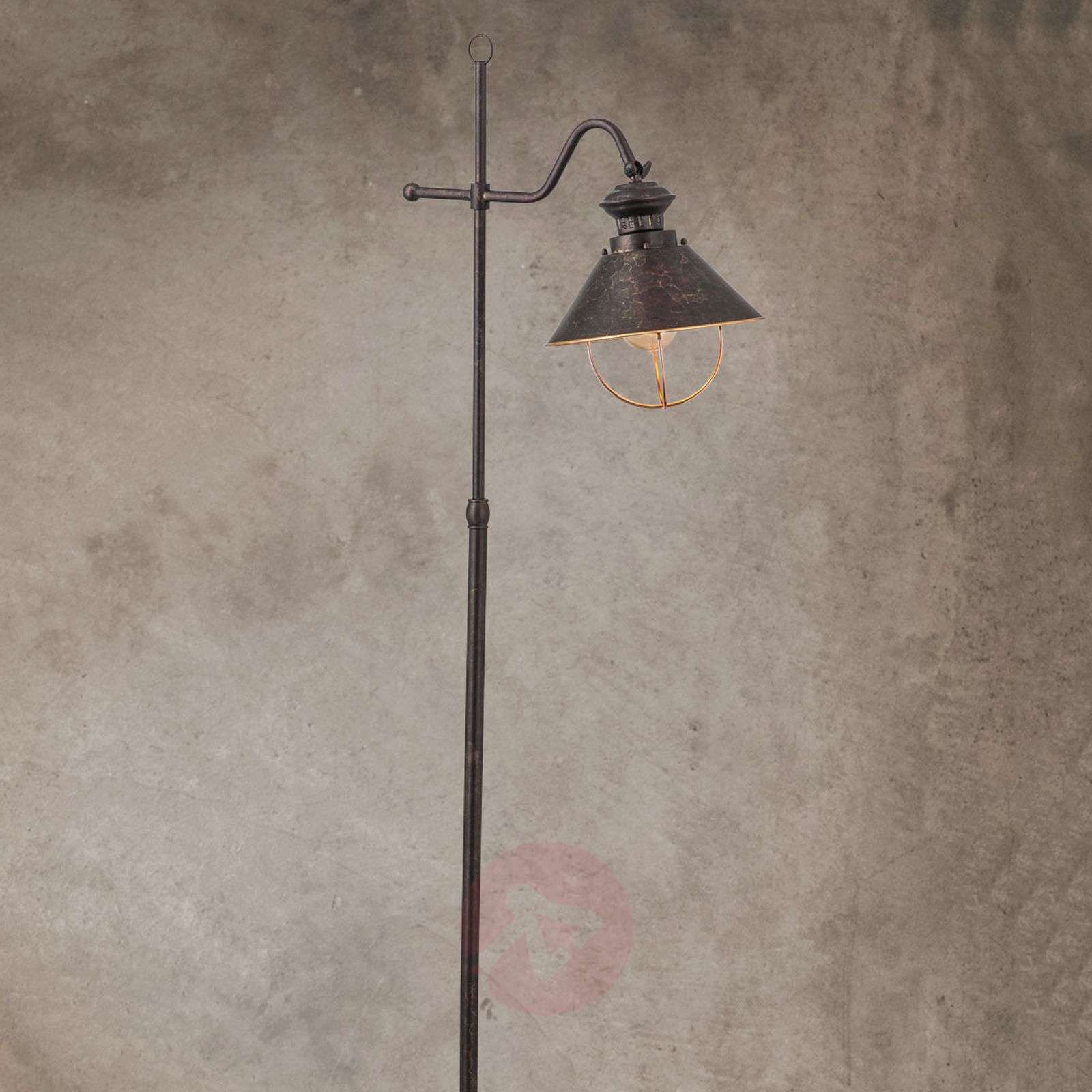Shanta floor lamp in antique style-7255172-01