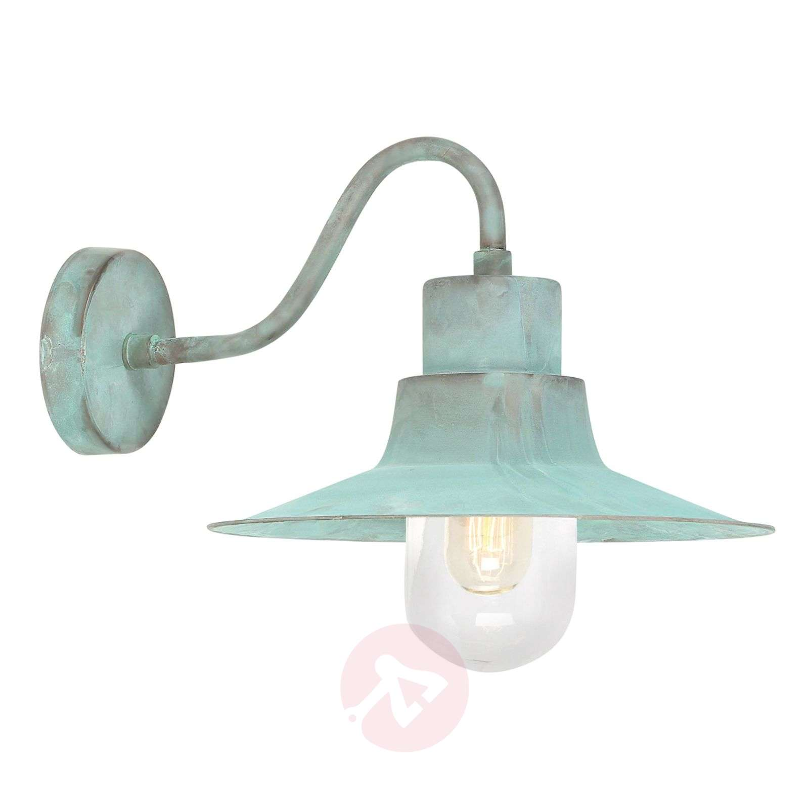 Sheldon green patinated outdoor wall light-3048399-01