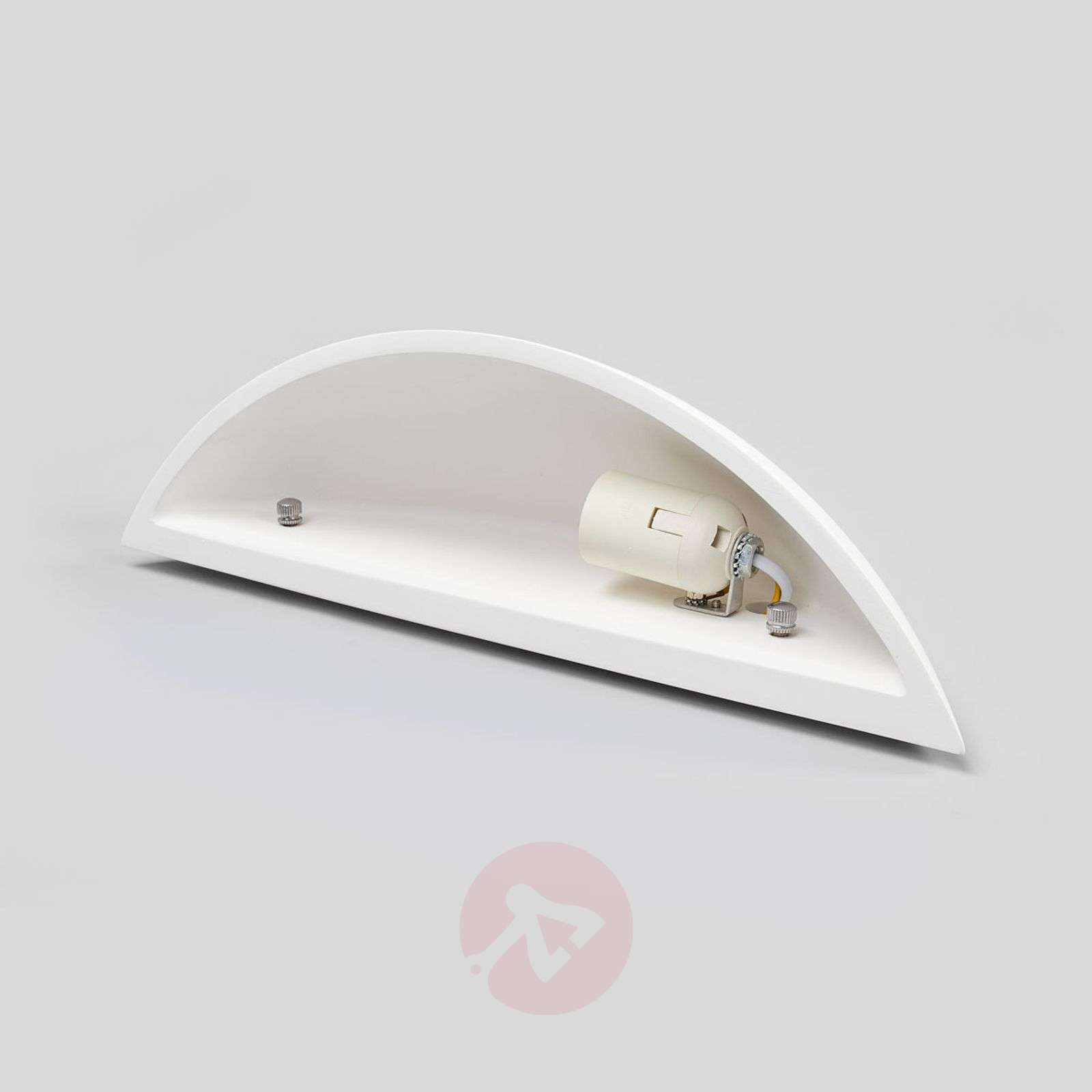 Shell-shaped plaster wall lamp Guilia-9613059-02