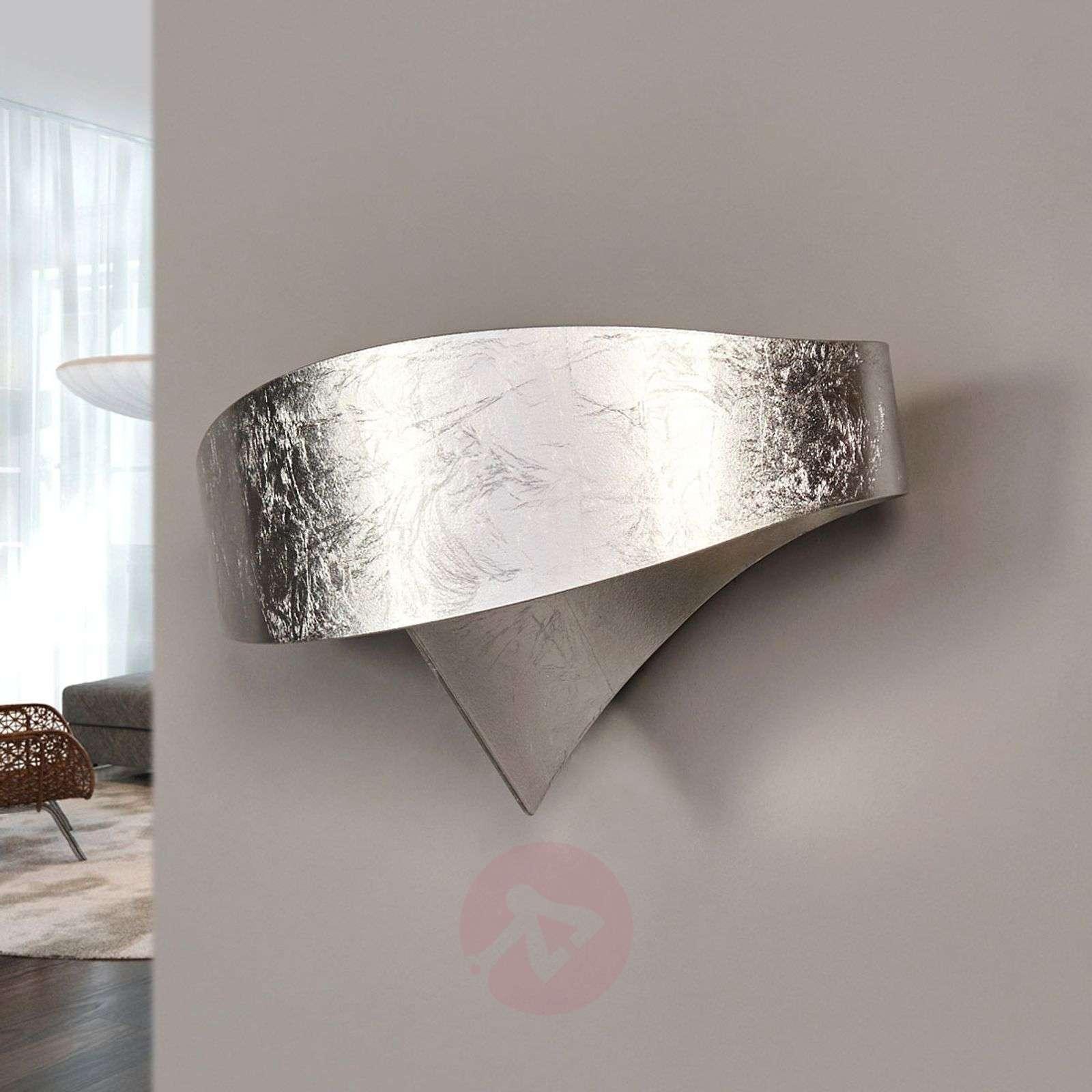 Silver designer wall light Scudo-8525698-01