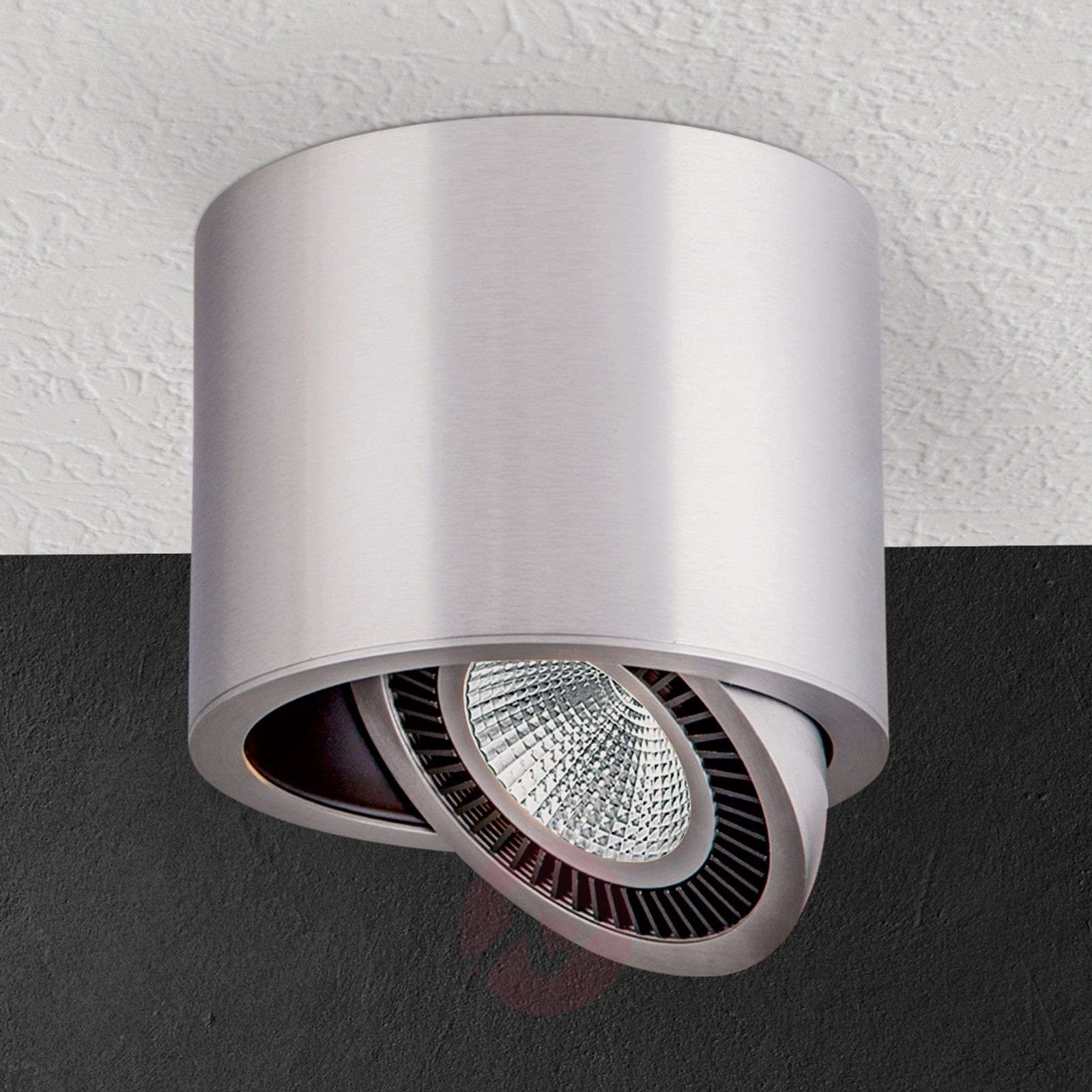 Silver led surface mounted ceiling spotlight sofya lights silver led surface mounted ceiling spotlight sofya 7255147 01 aloadofball Image collections