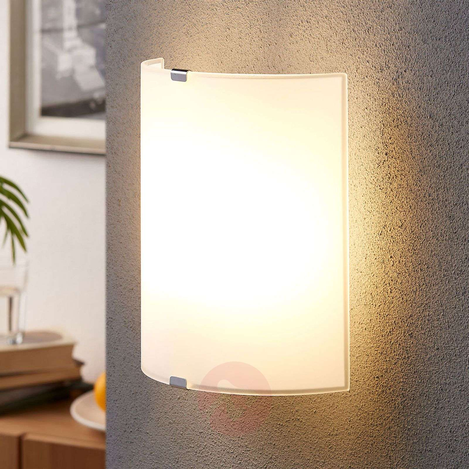 Simple glass wall light Phil-9620800-03