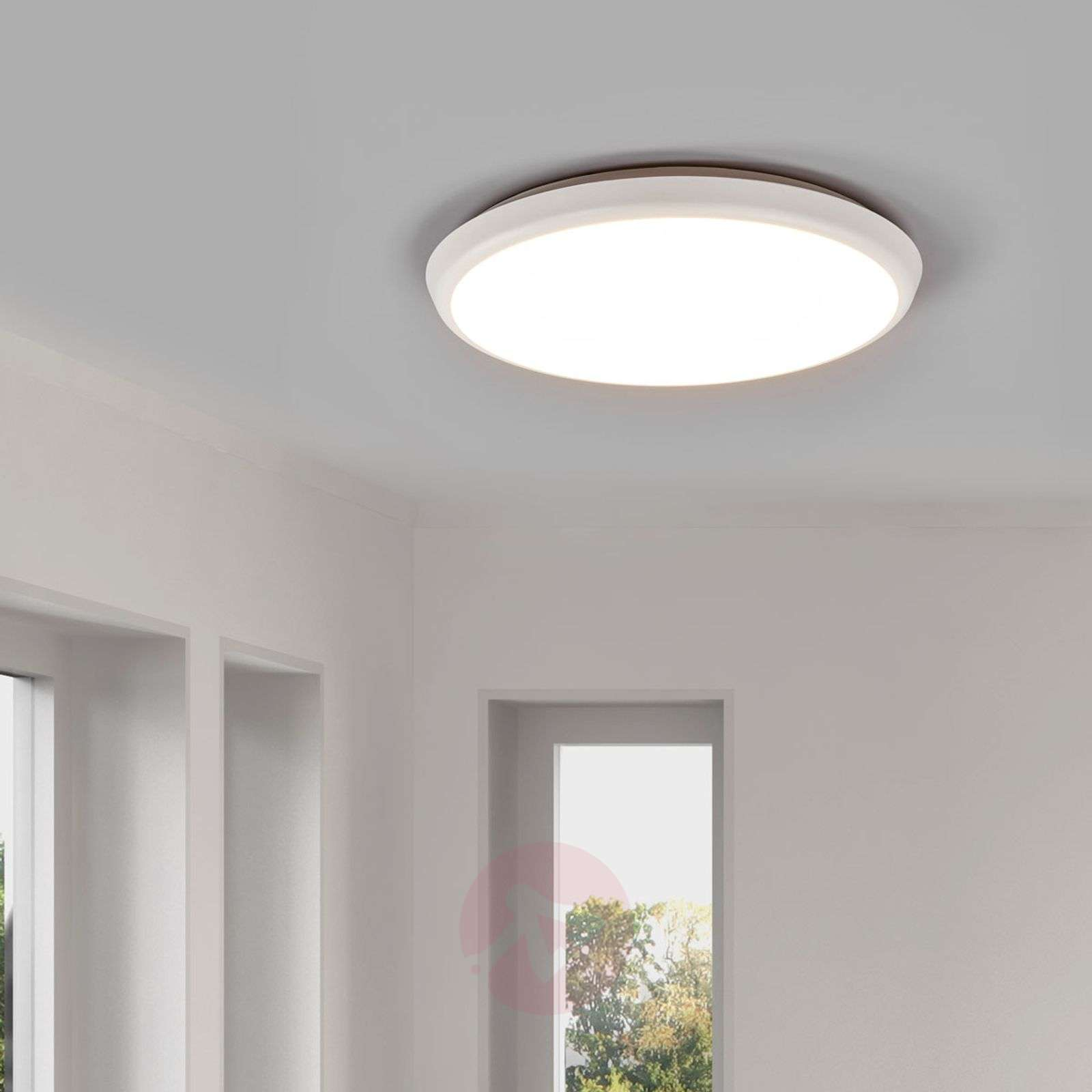 Simple LED ceiling lamp Augustin, 30cm-9967013-09