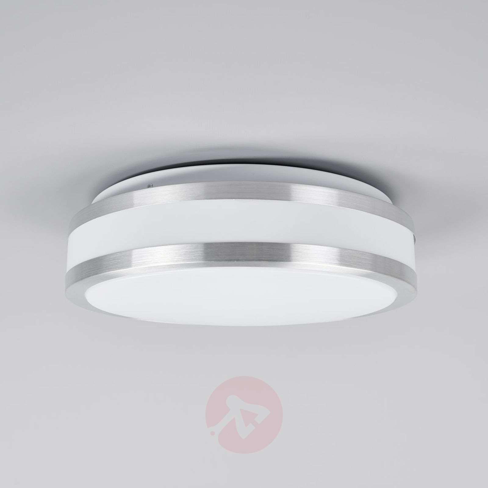 Simple LED ceiling light Edona, aluminium frame-9974023-01