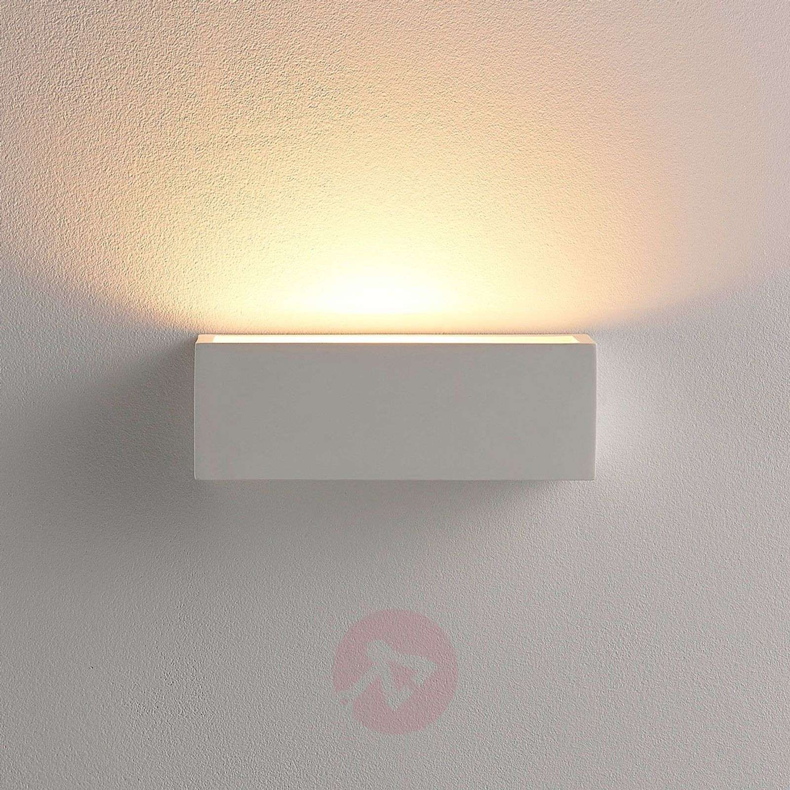 Simple LED plaster wall lamp Santino-9621333-02