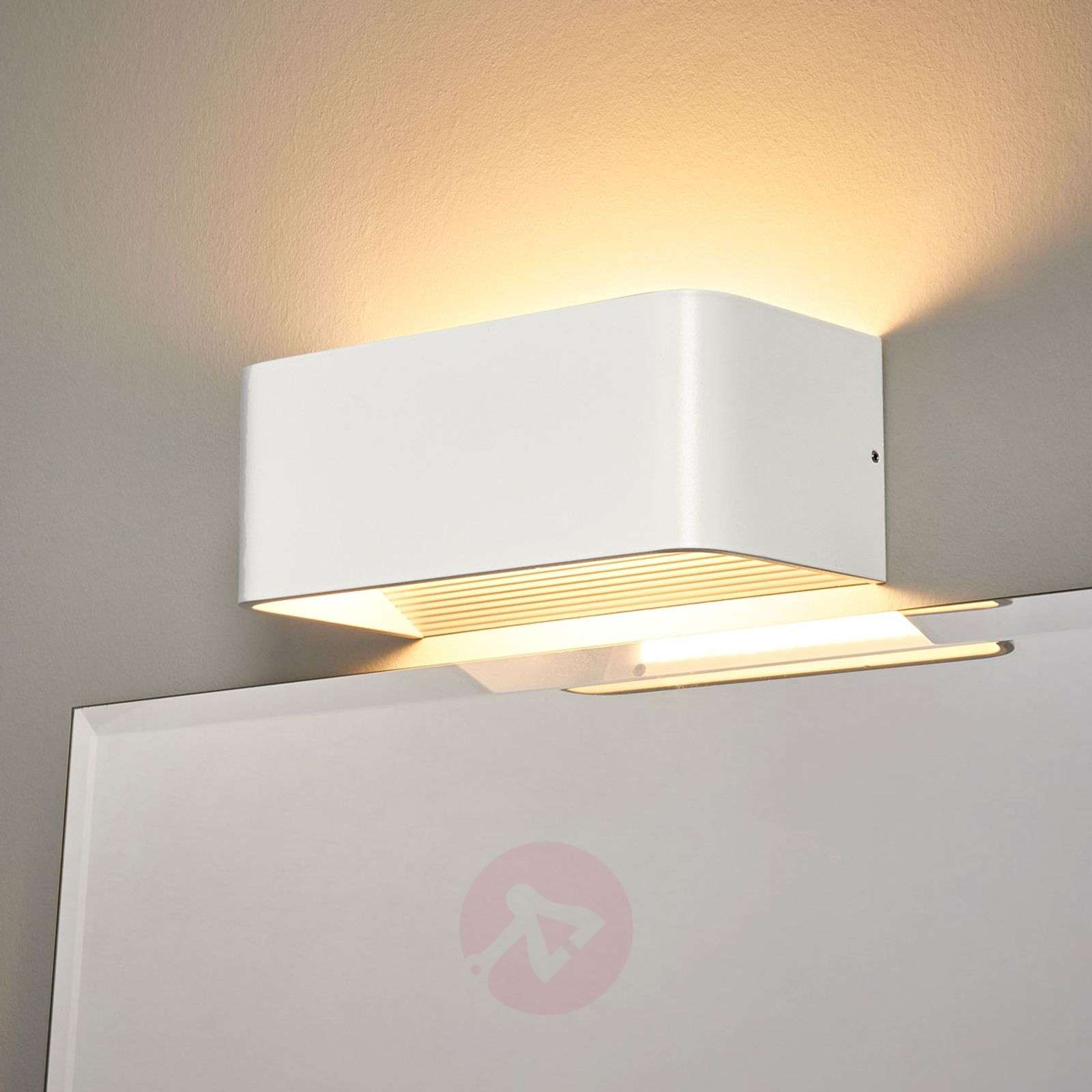 Simple LED wall light Celia for the bathroom   Lights.ie