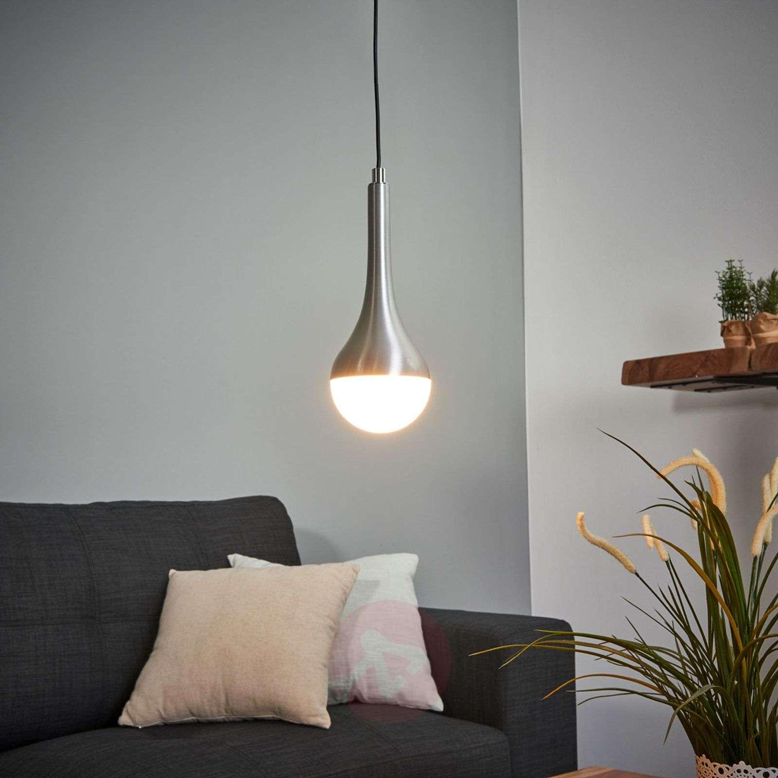 Single-bulb LED hanging light Drop, warm white-9004701-01