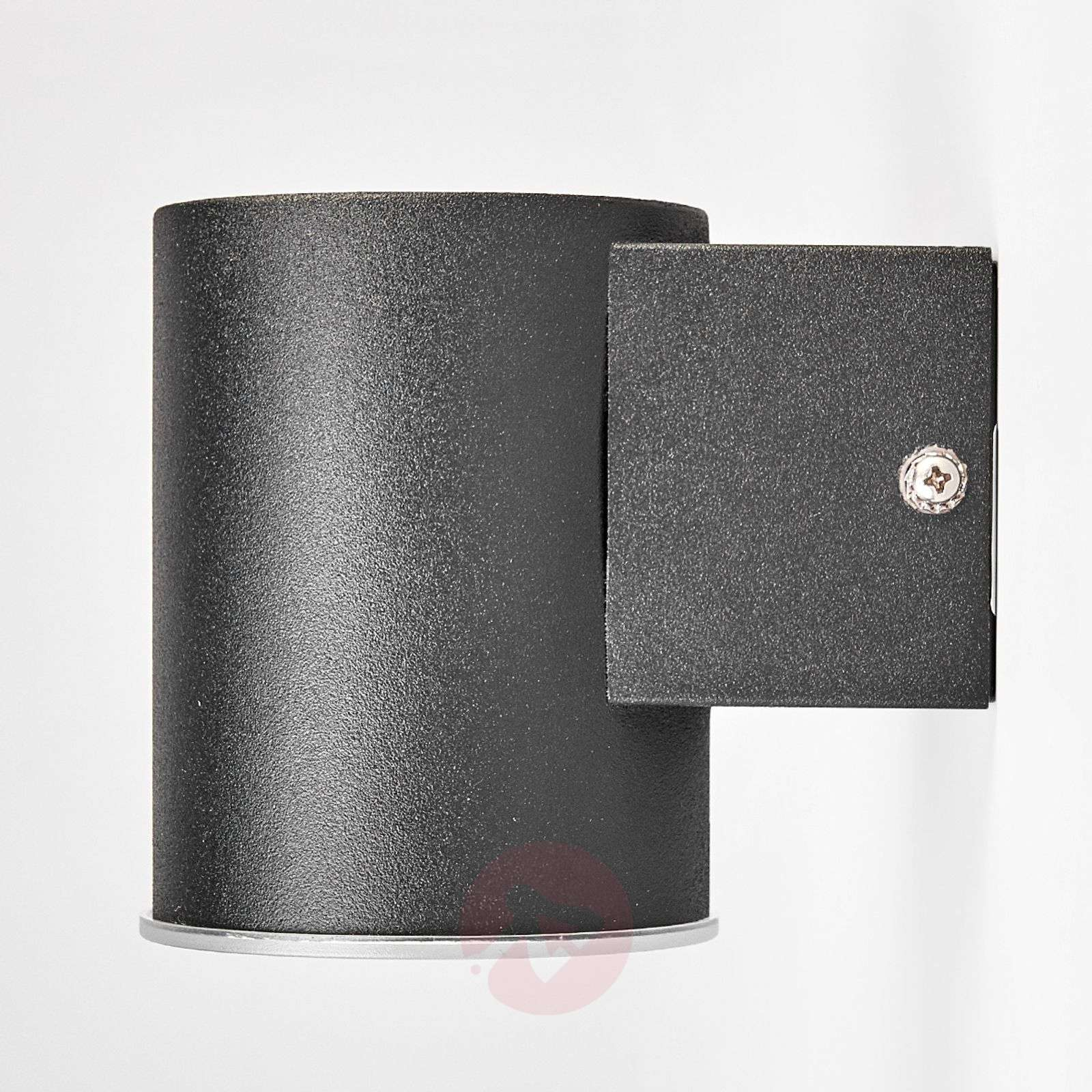 Sleek Morena LED outdoor wall lamp in black-9988057-01