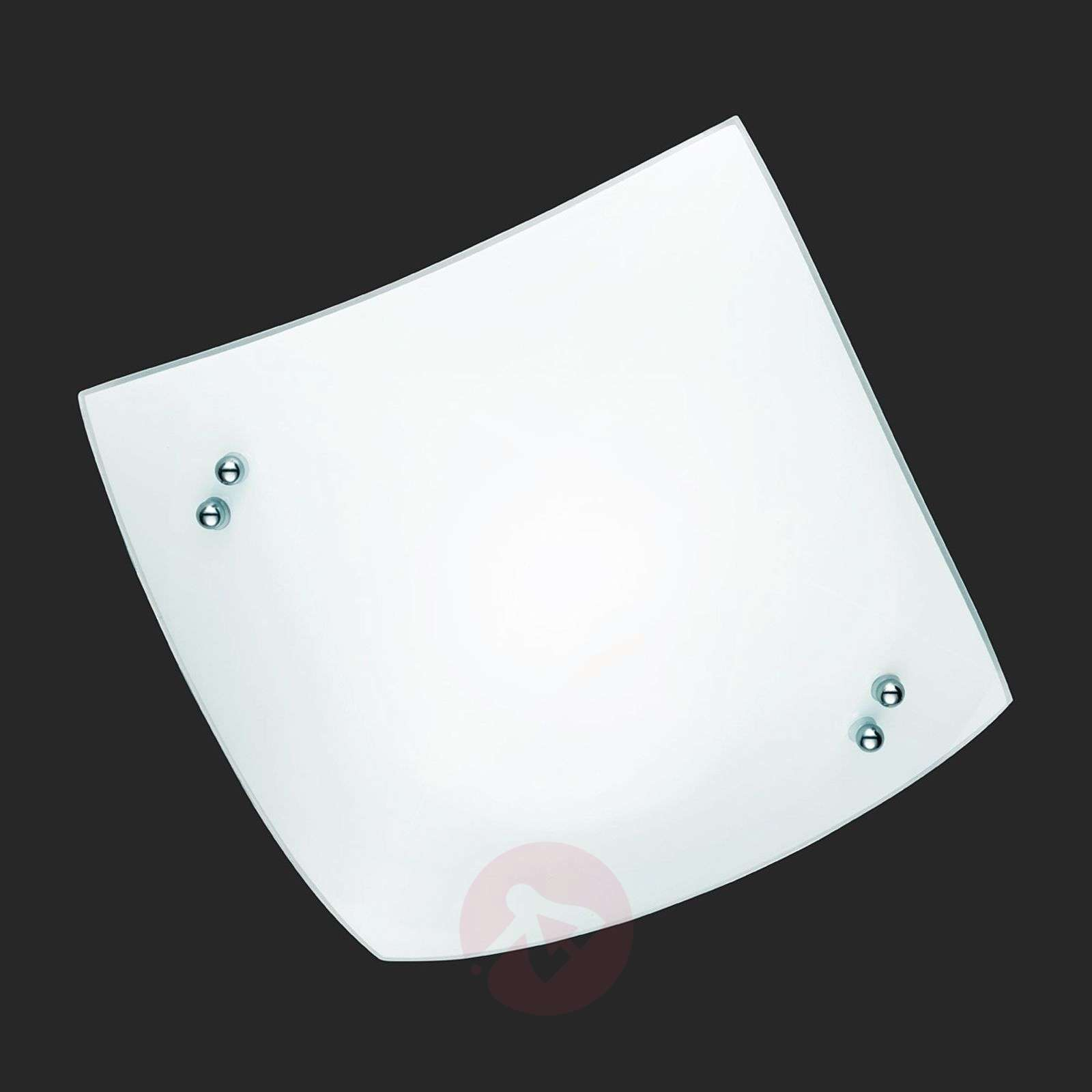 Slightly-curved ceiling light STOLE-9004104X-01