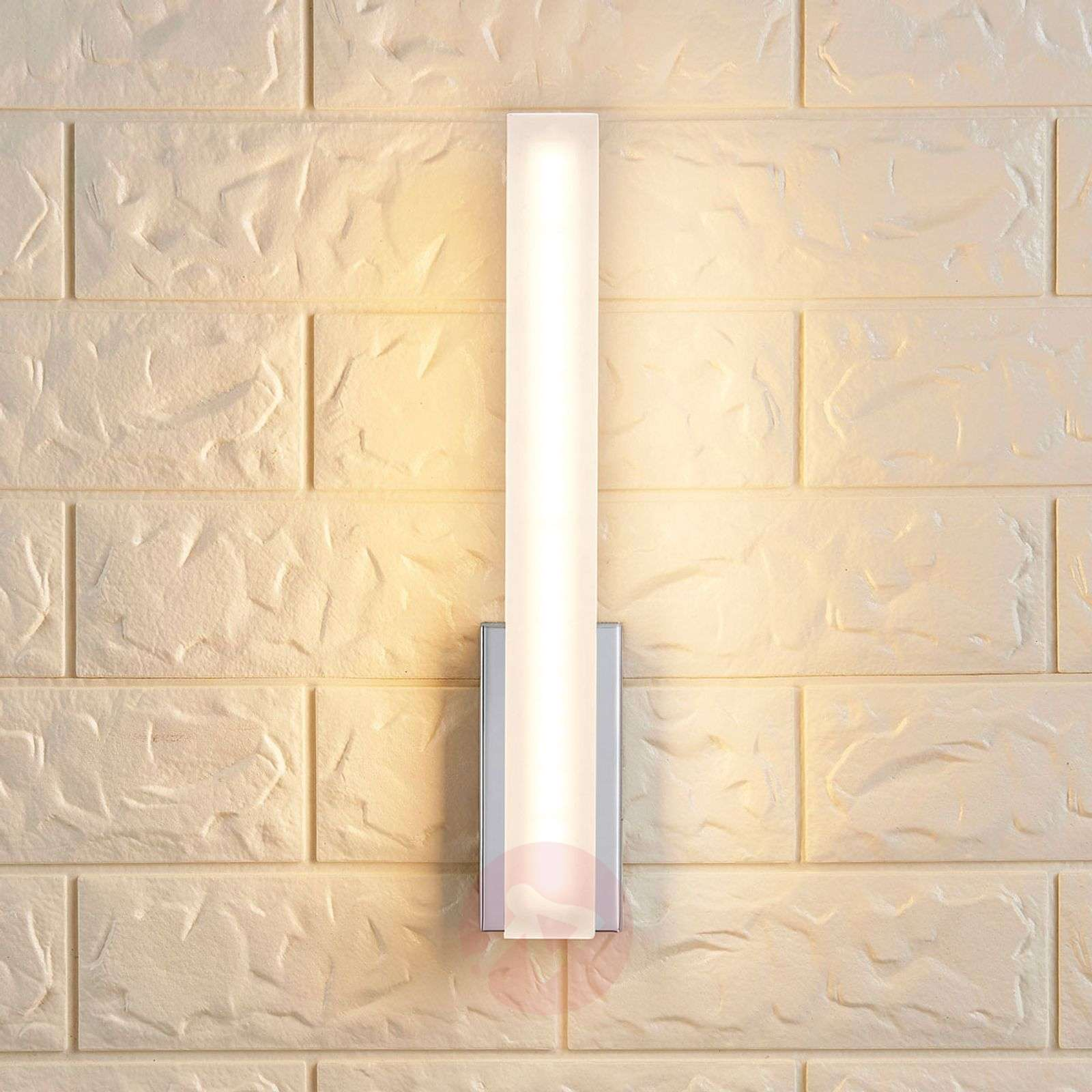 Slim LED wall light Julie, IP44-9621185-02