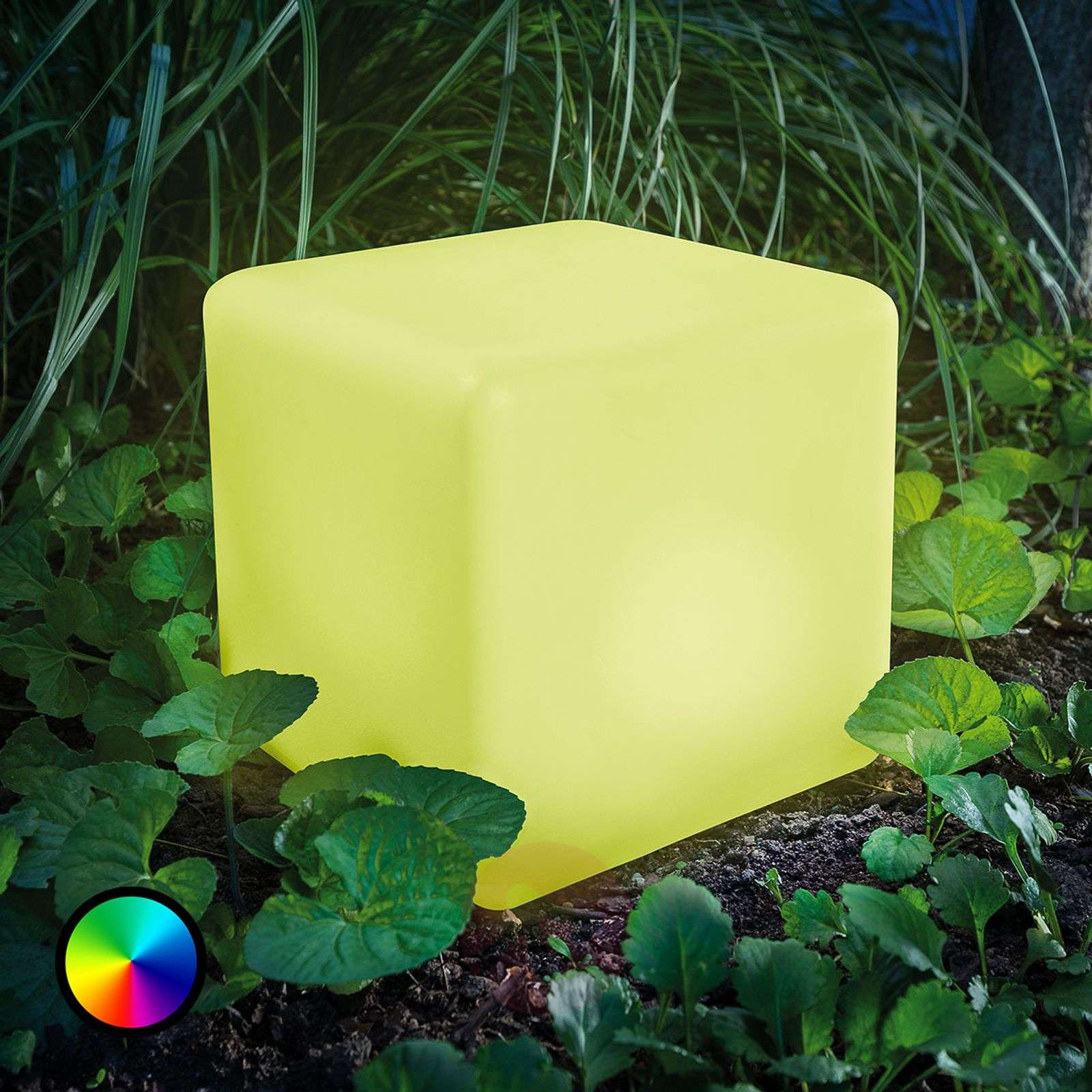 Smart Cube LED solar cube with colour change-3012563-01