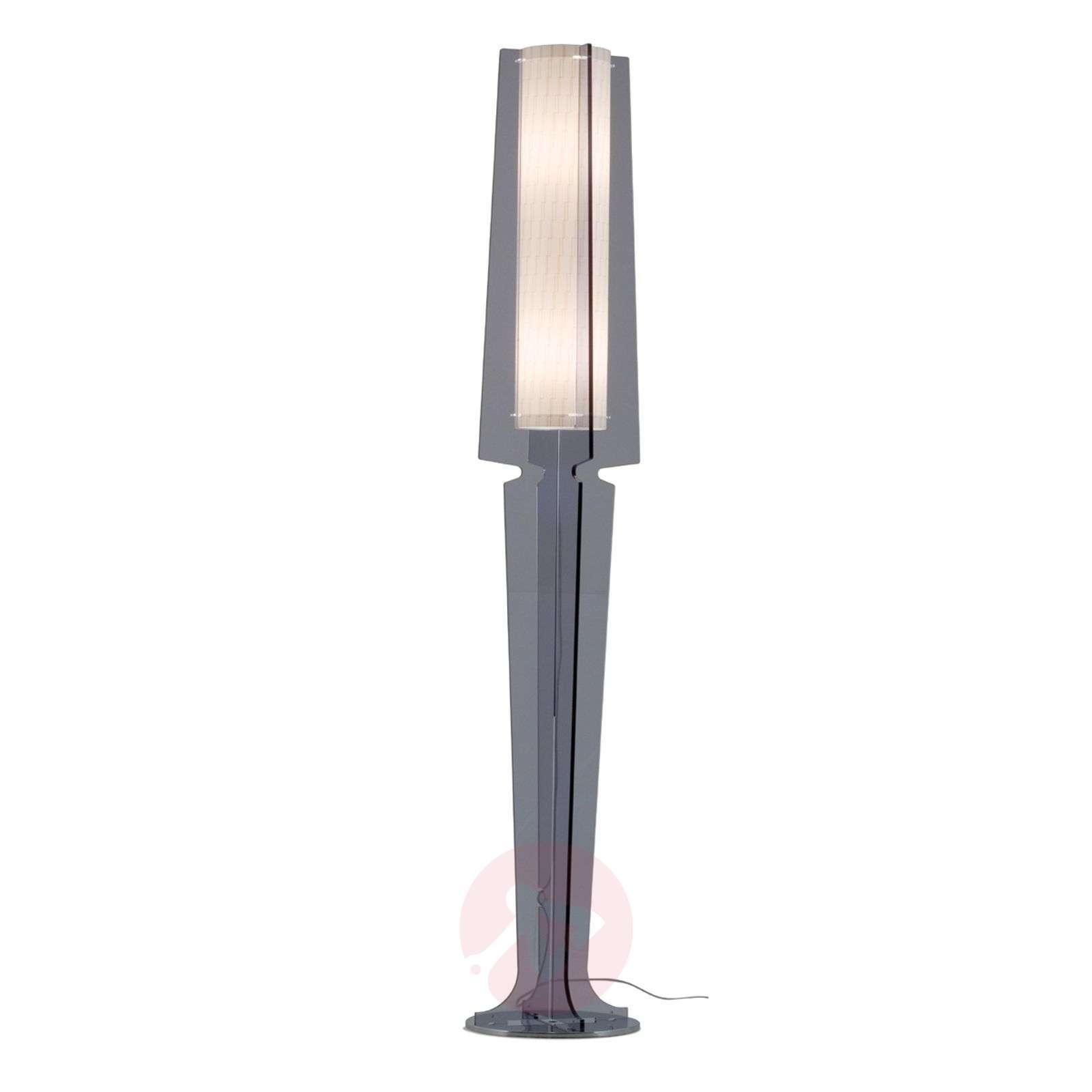 Smoky grey floor lamp Dea-1056005-01