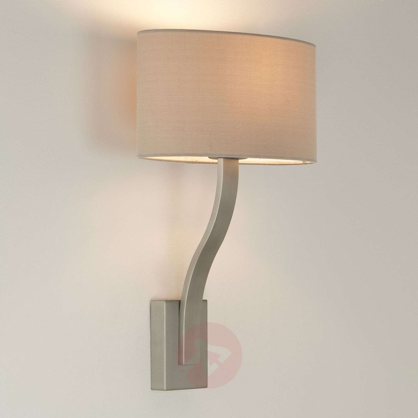 Sofia Wall Light Attractively Shaped Matte Nickel-1020430-01