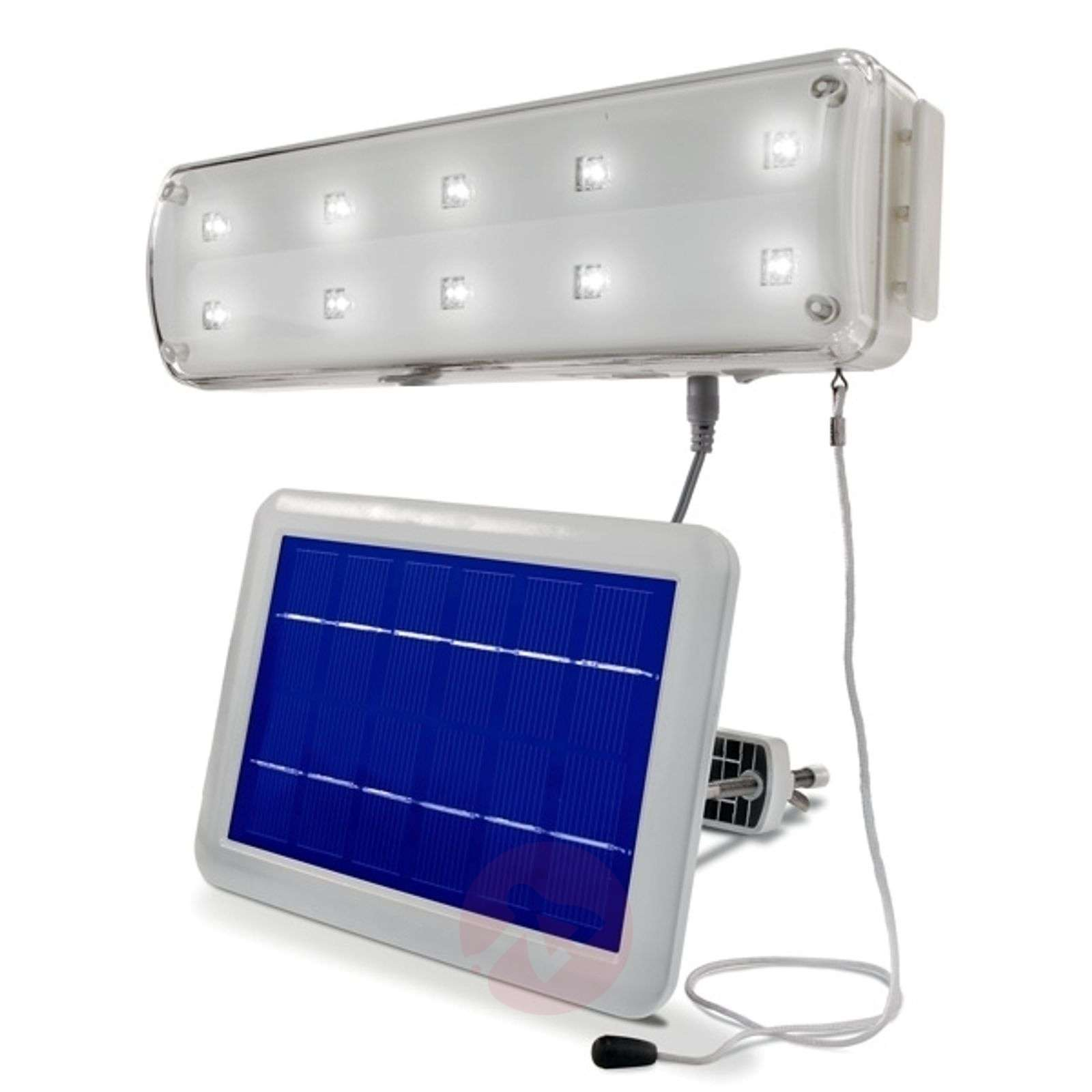 Solar light system with motion detector-3012201-01